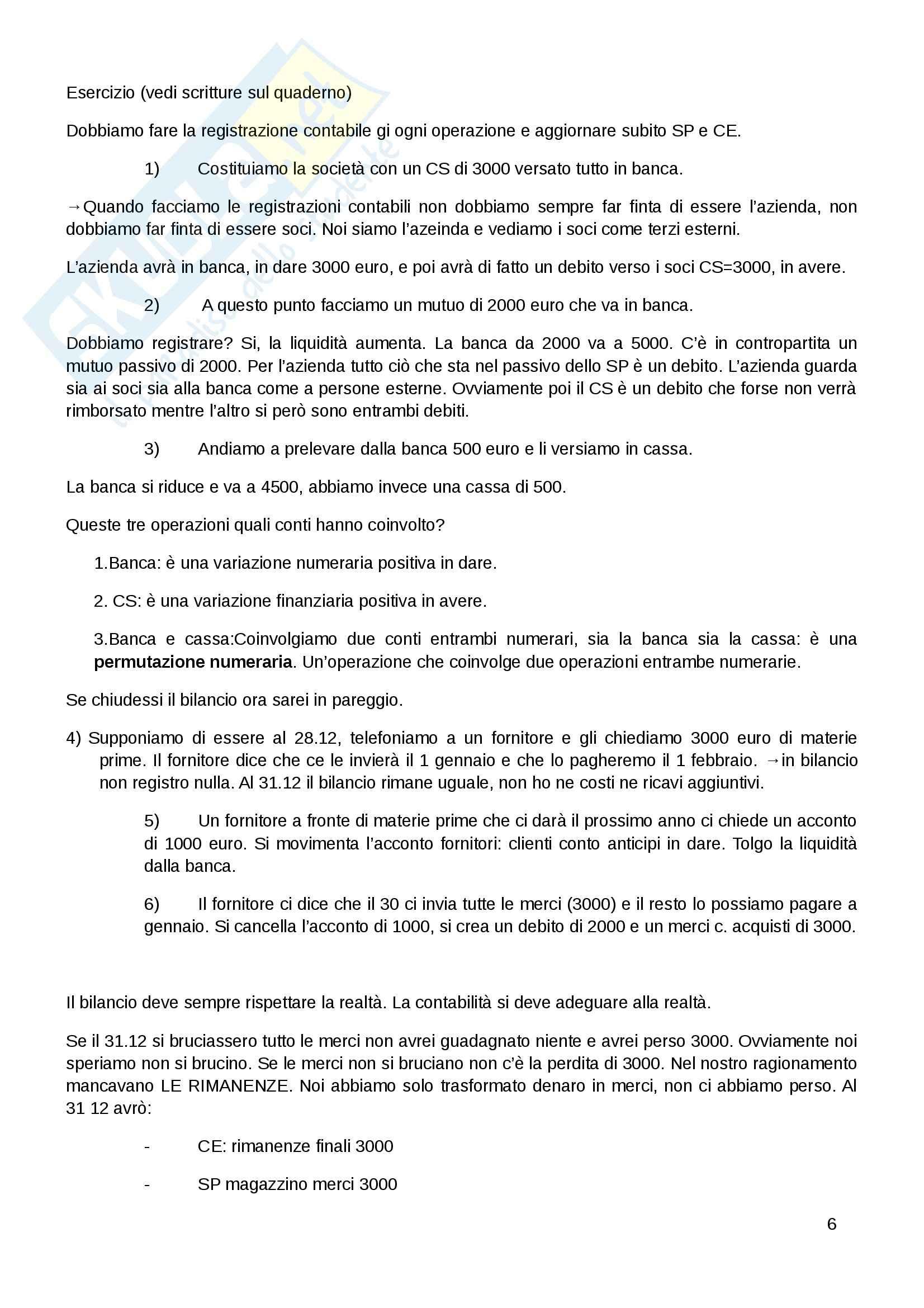 Ragioneria applicata Pag. 6