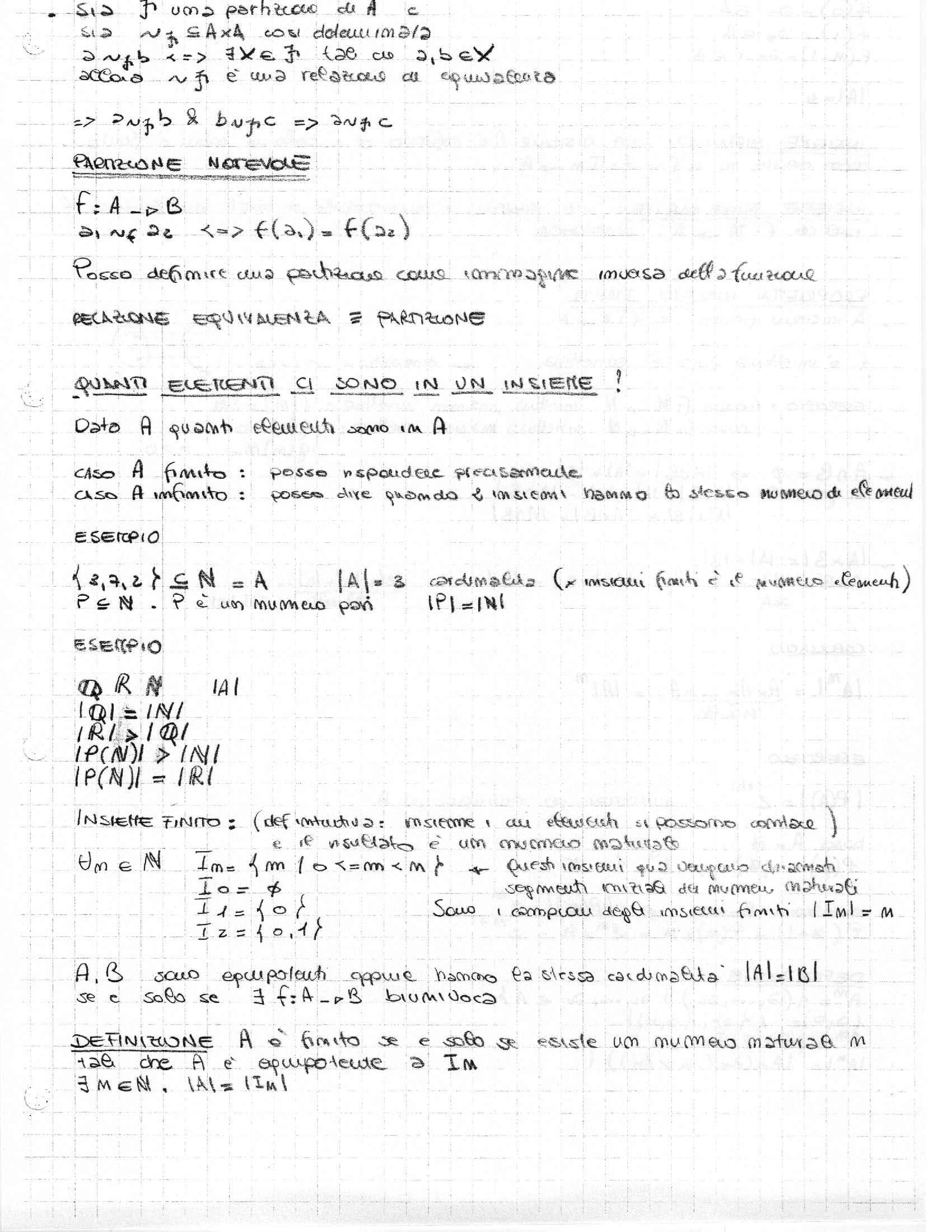 Logica e matematica discreta - Appunti Pag. 11