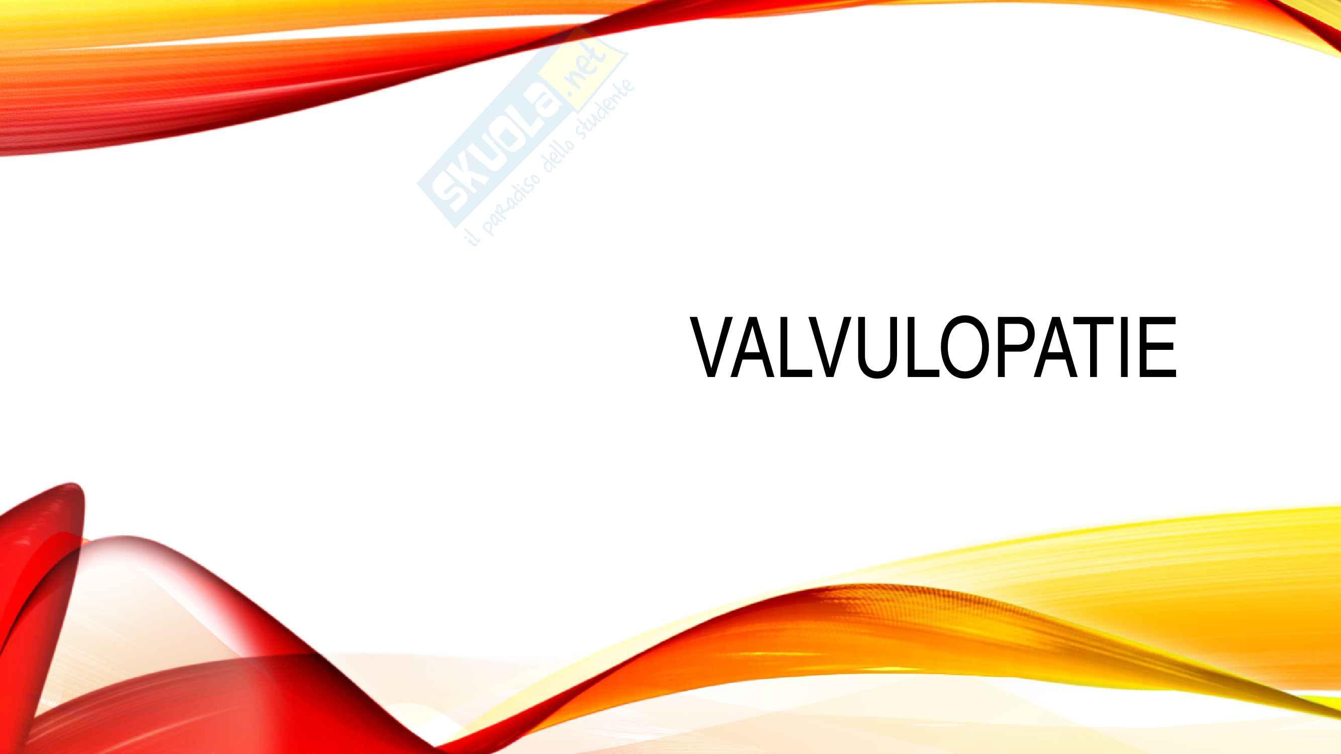 Valvulopatie