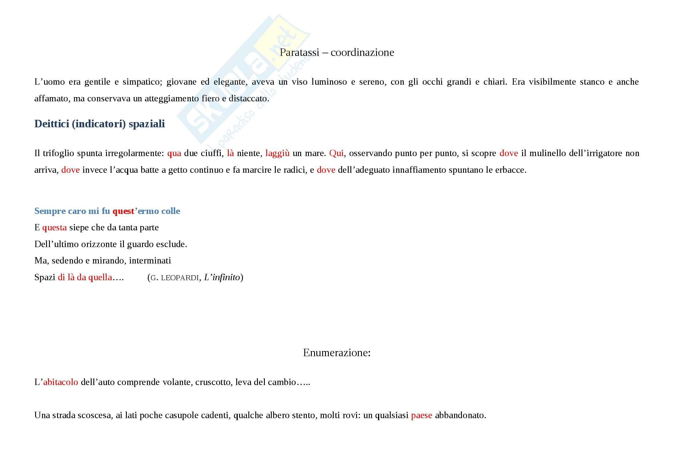 Tecniche espressive e tipologie dei testi - Appunti Pag. 11