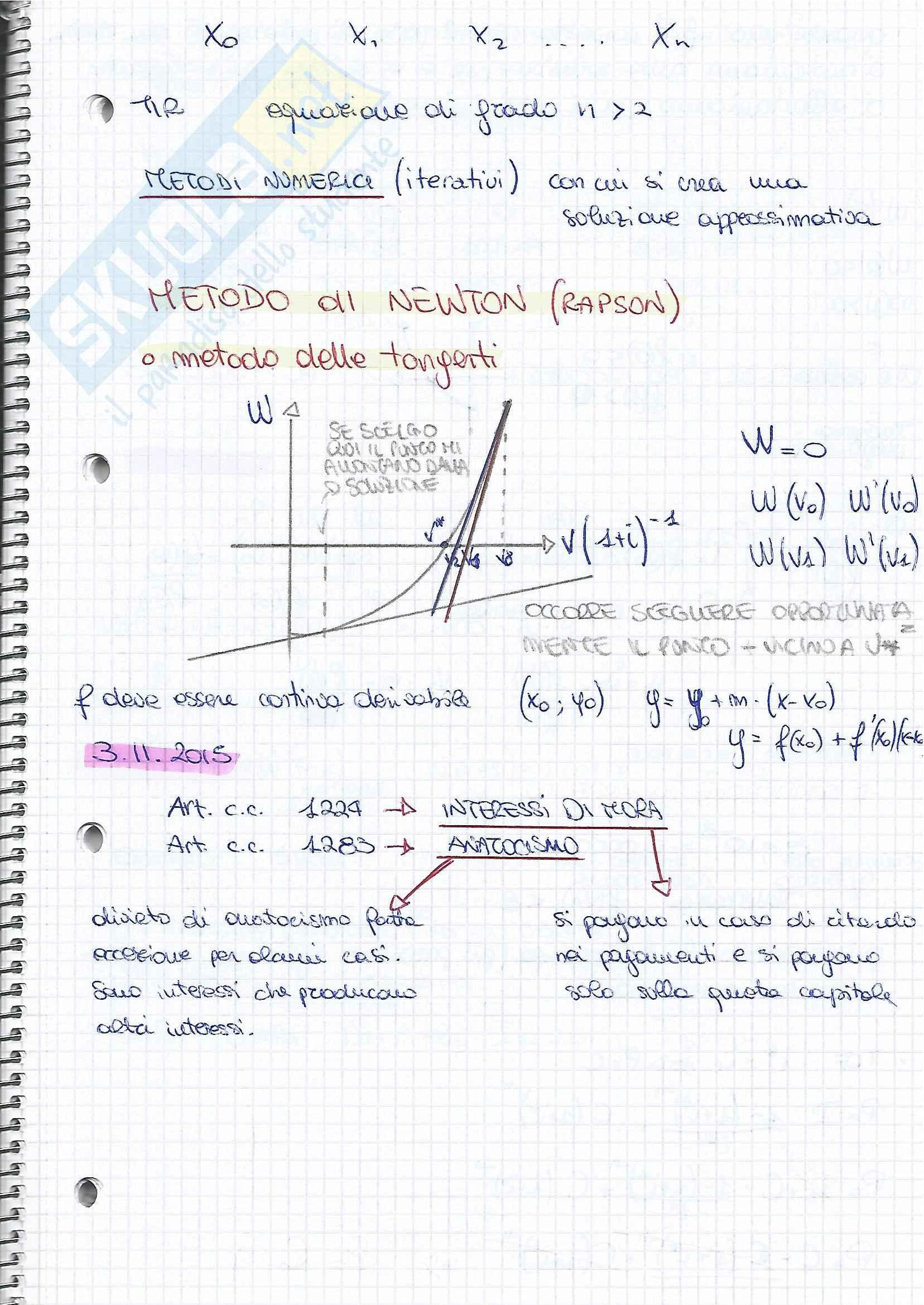 Matematica Finanziaria prima parte Pag. 51