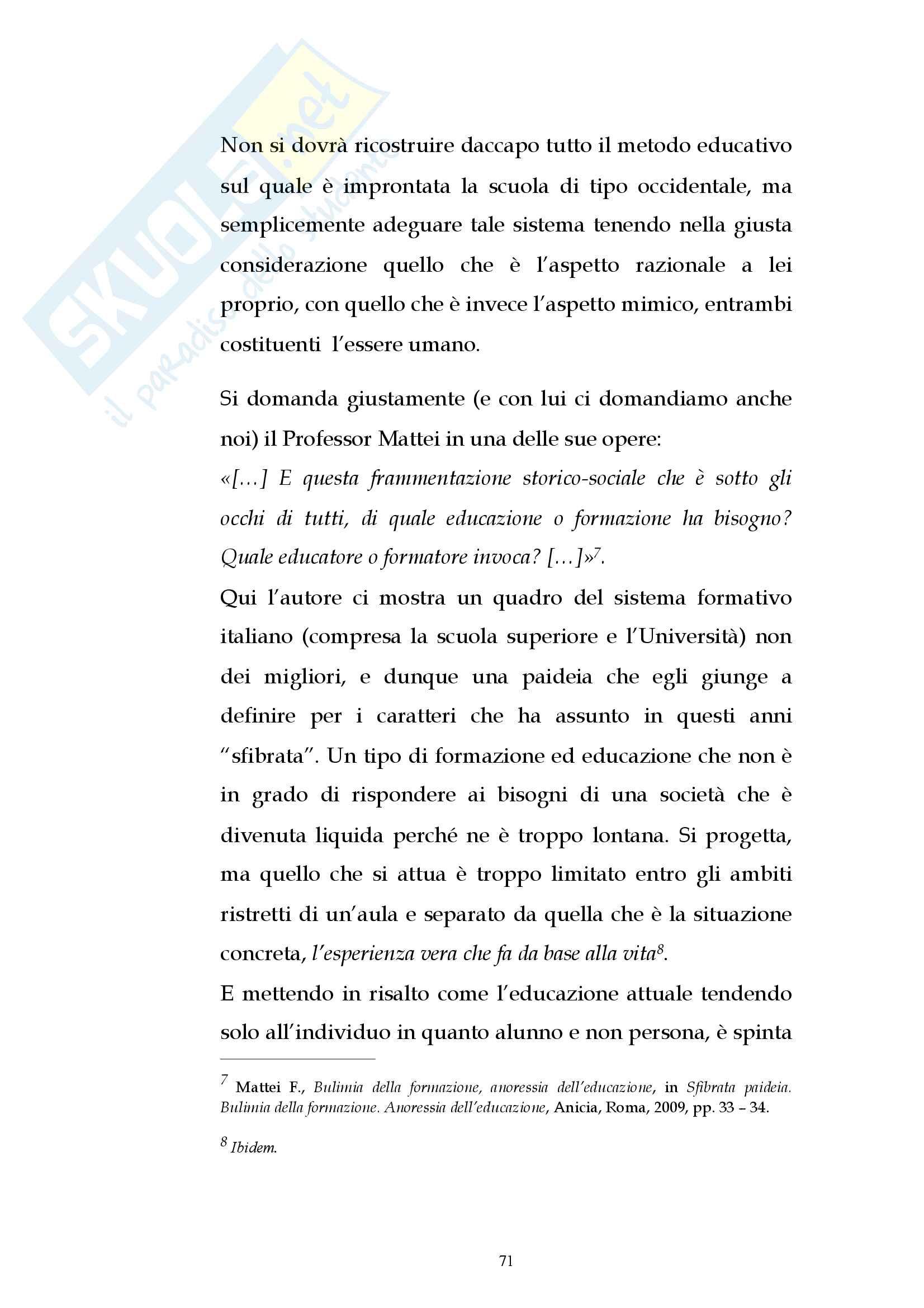 Educazione e Mimesis, Candidi Anna Debora Pag. 71