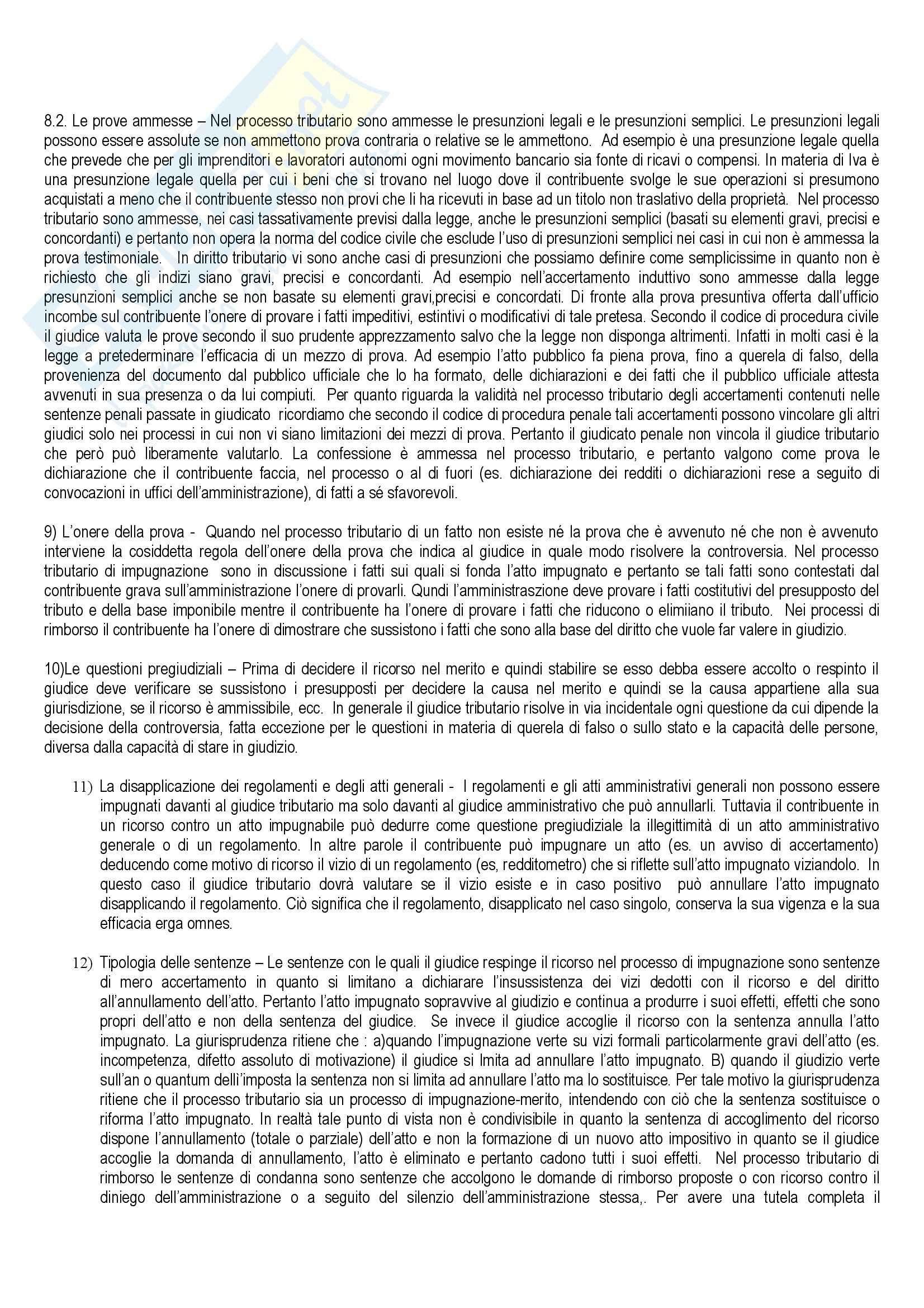 Diritto tributario - le sanzioni penali ed amministrative Pag. 11
