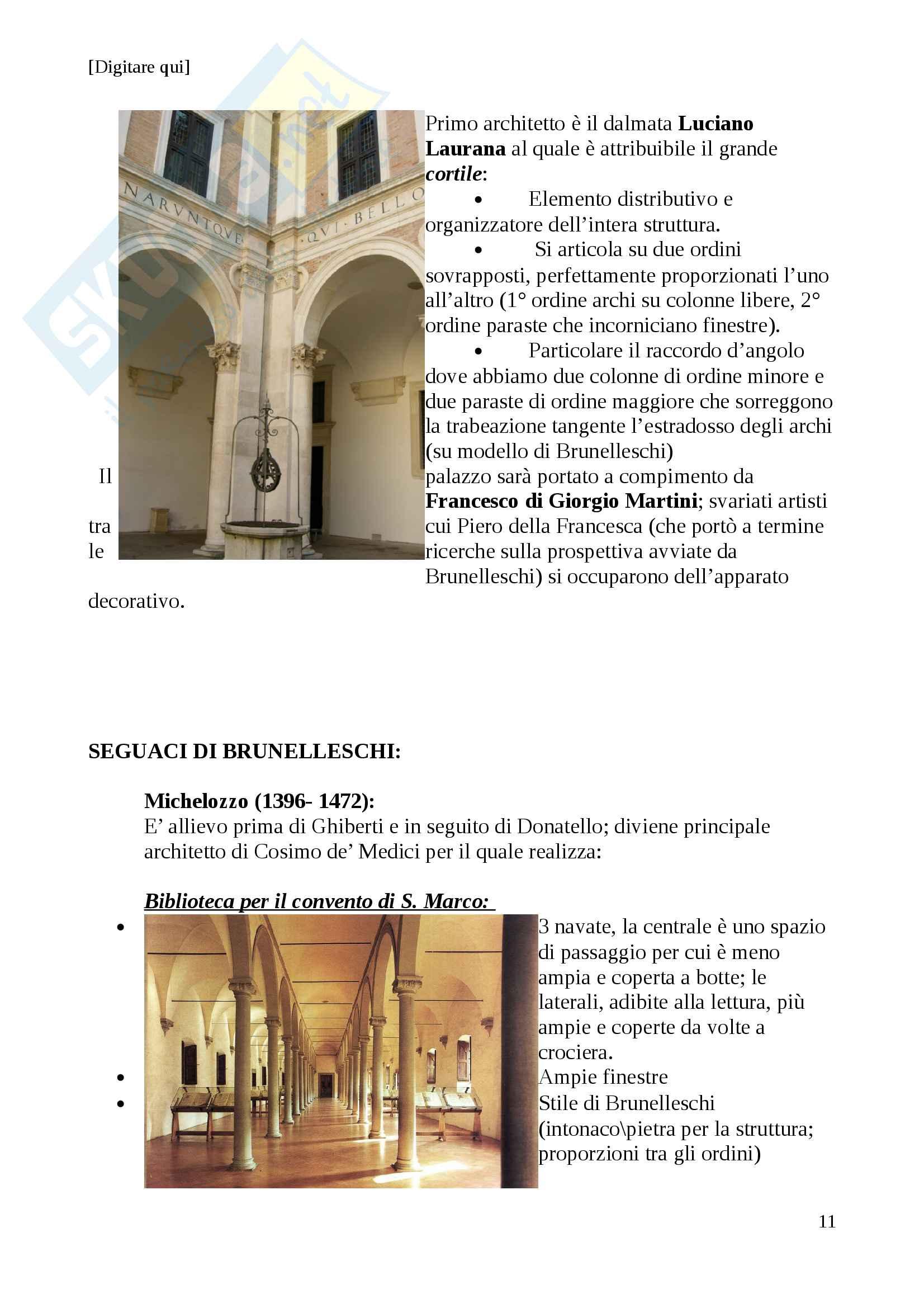 Storia dell'architettura dal 400 al 700 Pag. 11