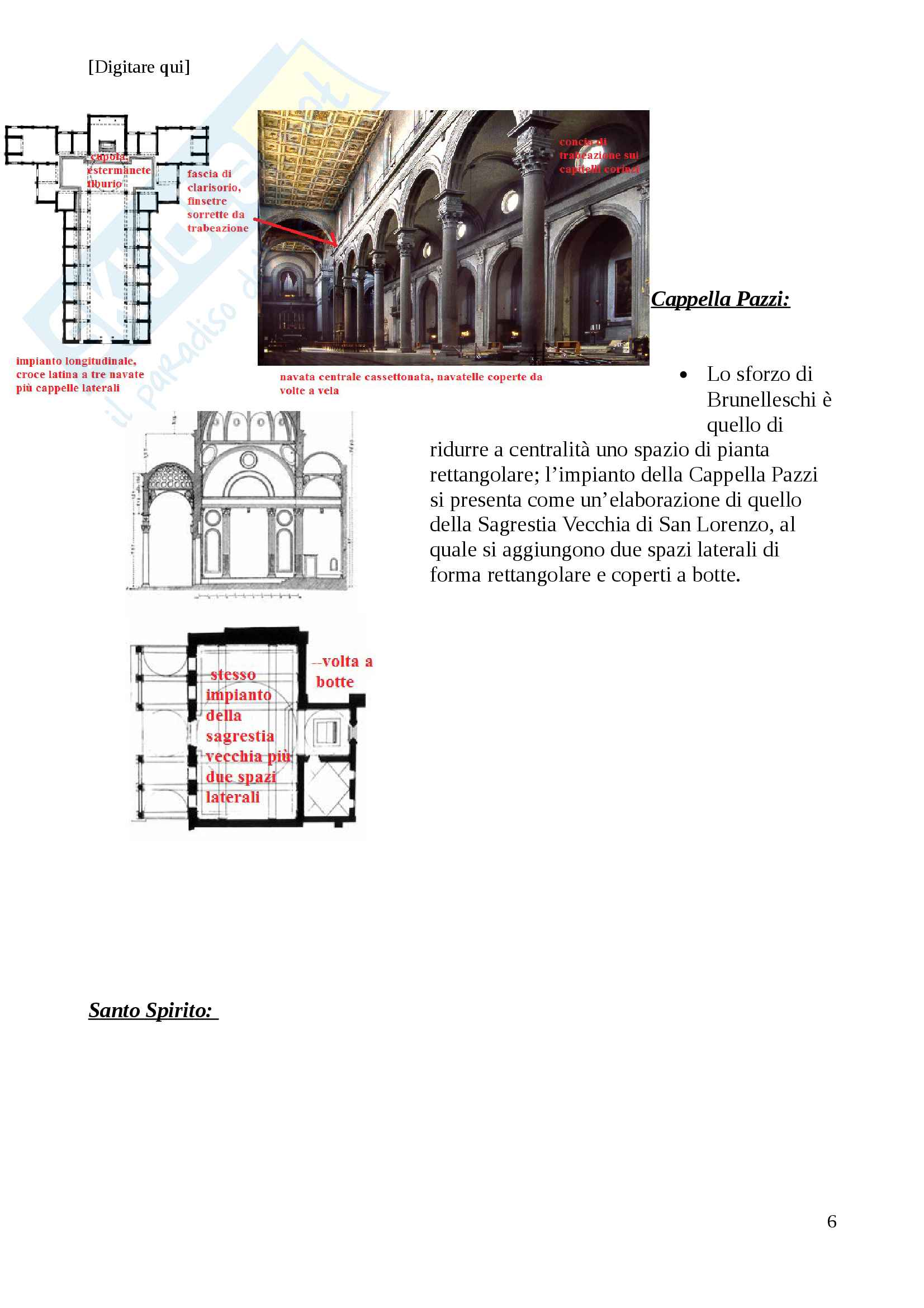 Storia dell'architettura dal 400 al 700 Pag. 6