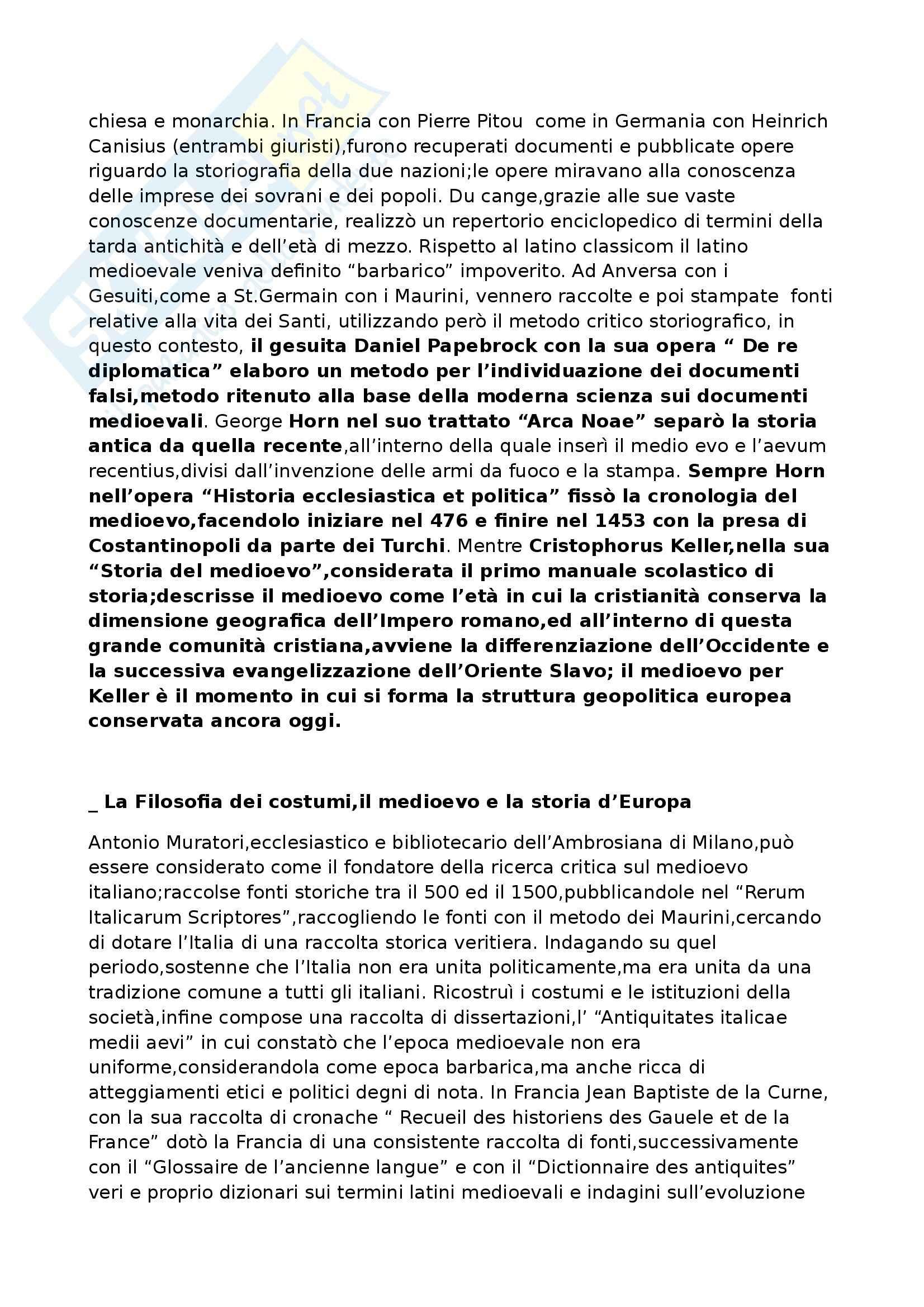 Riassunto esame Storia medievale, prof. Benvenuti, libro consigliato Introduzione alla storia medievale, Delogu Pag. 2