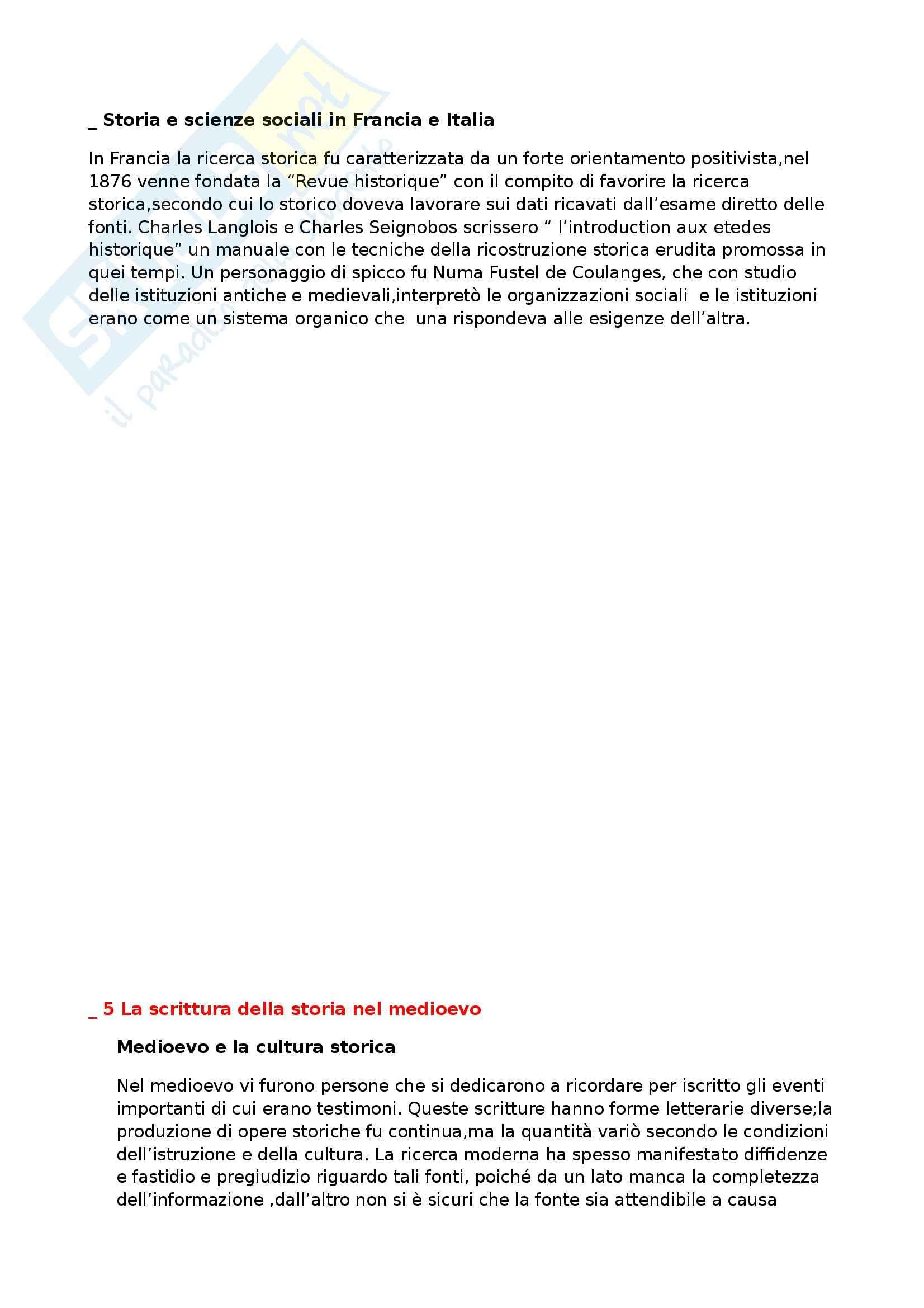 Riassunto esame Storia medievale, prof. Benvenuti, libro consigliato Introduzione alla storia medievale, Delogu Pag. 6