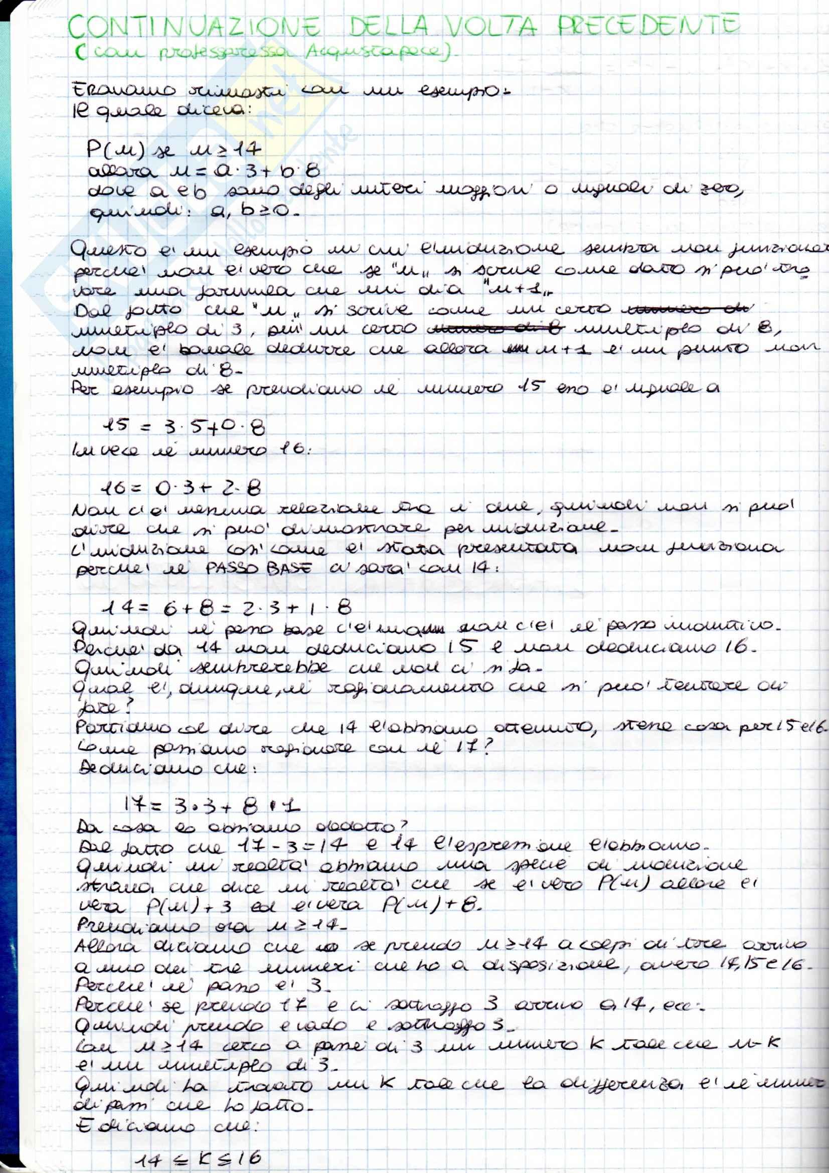 Matematica Discreta - Appunti parte 2