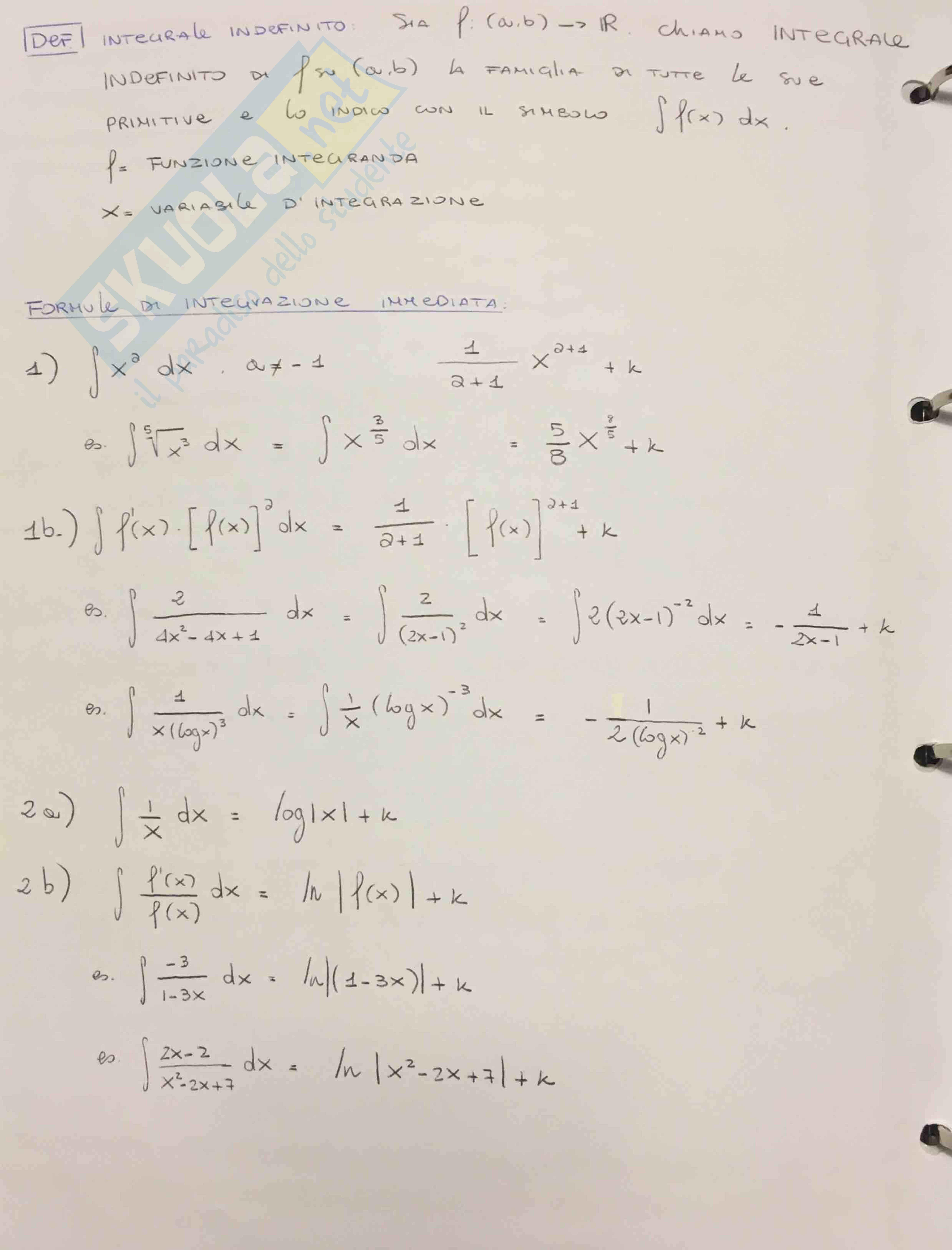 Appunti primo parziale matematica finanziaria (anno 1) - Bocconi Pag. 2
