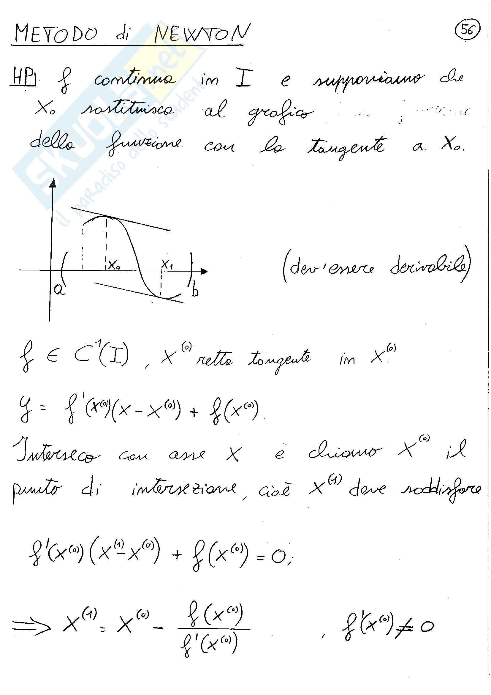 Parte 2, Metodi analitici e numerici per l'ingegneria Pag. 56