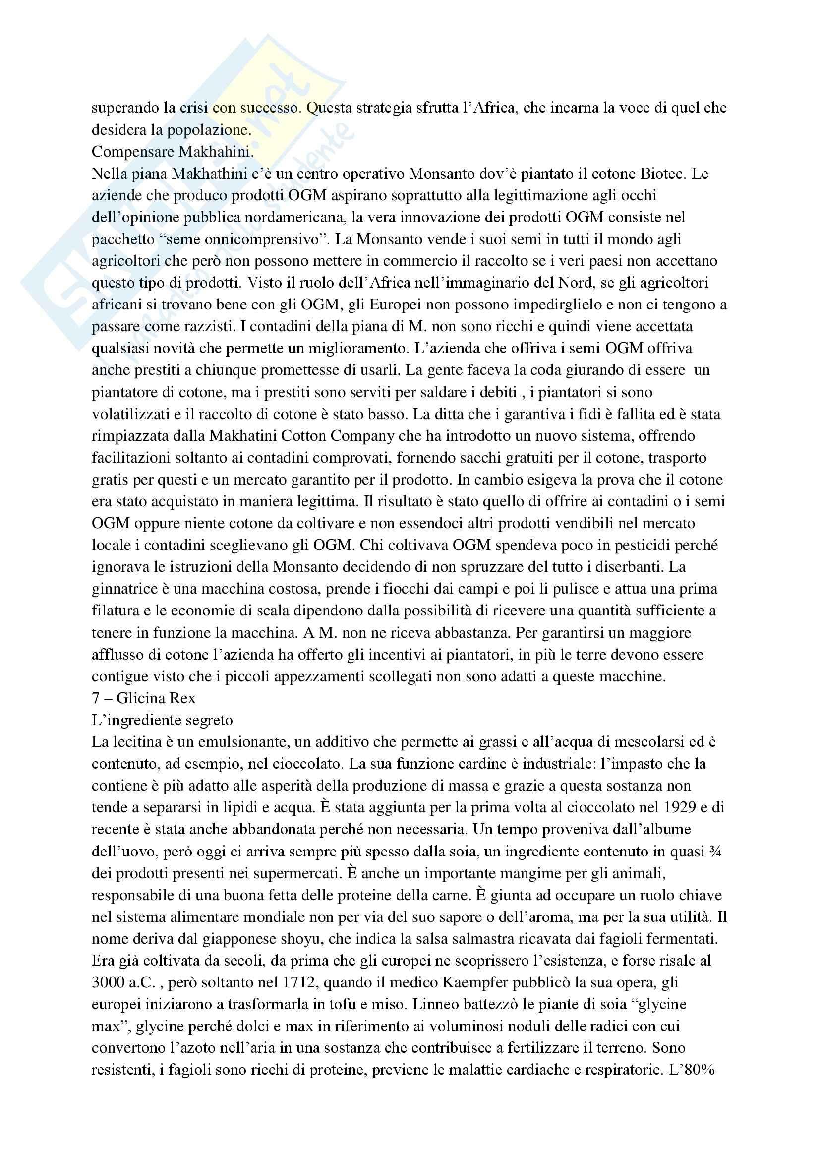 Riassunto esame Storia Contemporanea, prof. Bevilacqua, libro consigliato I Padroni del Cibo, Raj Pag. 16