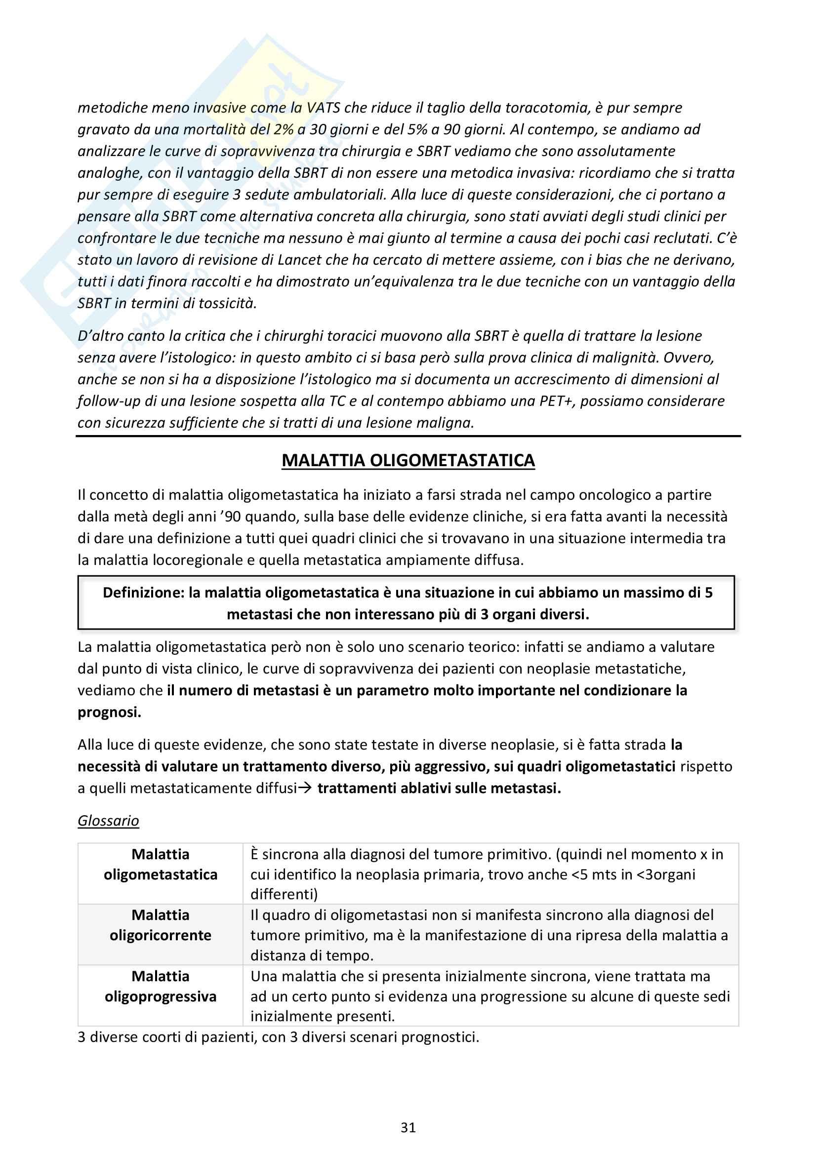 Riassunti Radioterapia Pag. 31