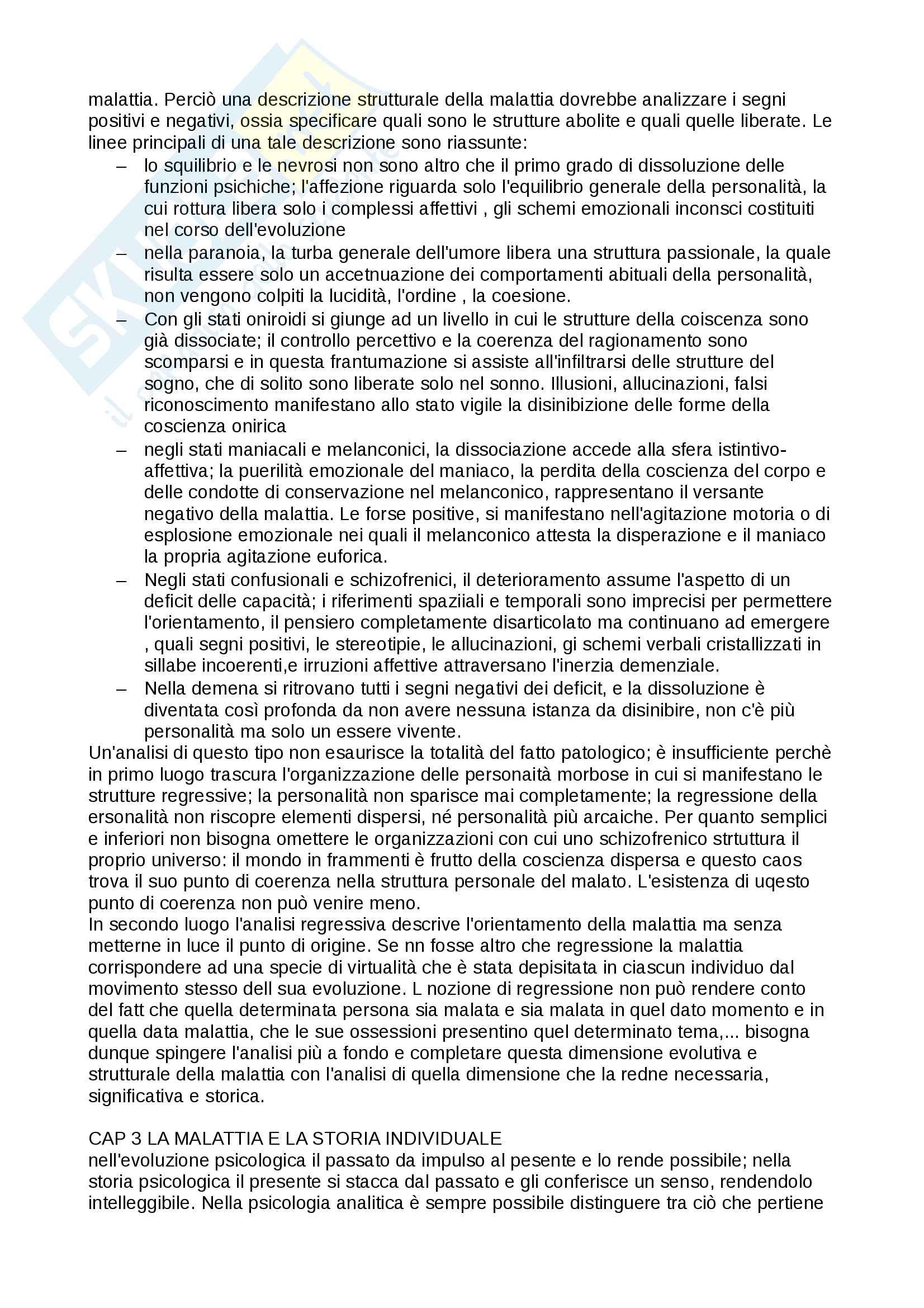 Riassunto esame filosofia morale, prof. Chitussi, libro consigliato Malattia mentale e psicologia, Foucault Pag. 6