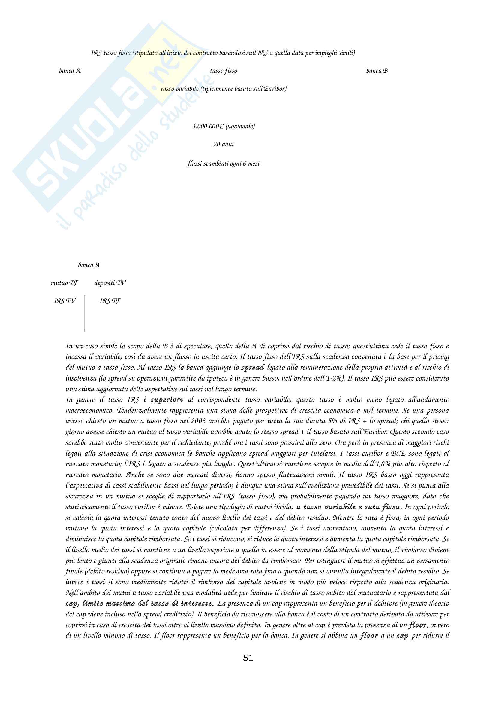 Appunti intermediari finanziari Pag. 51