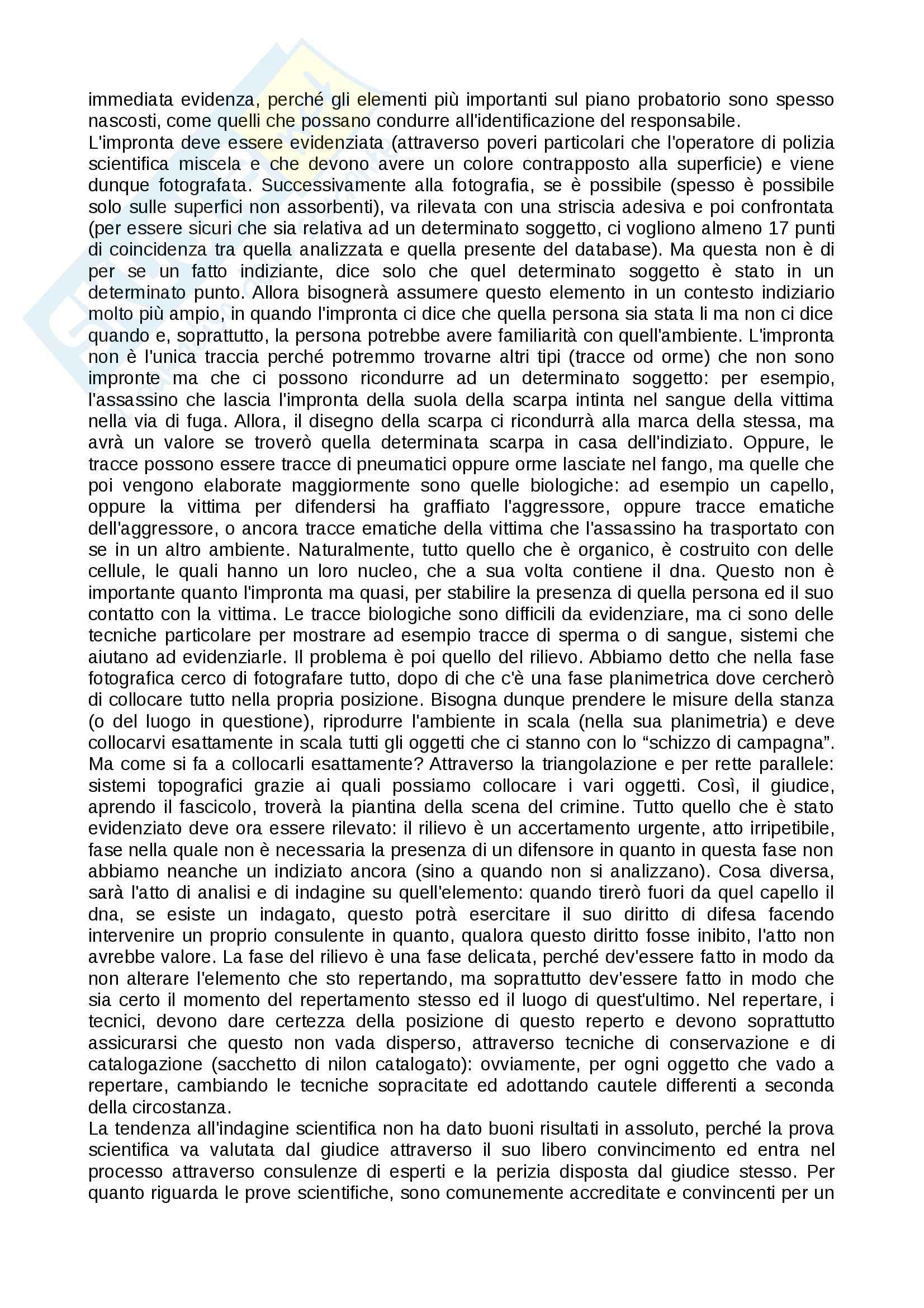 Tecniche investigative applicate - Appunti Pag. 11