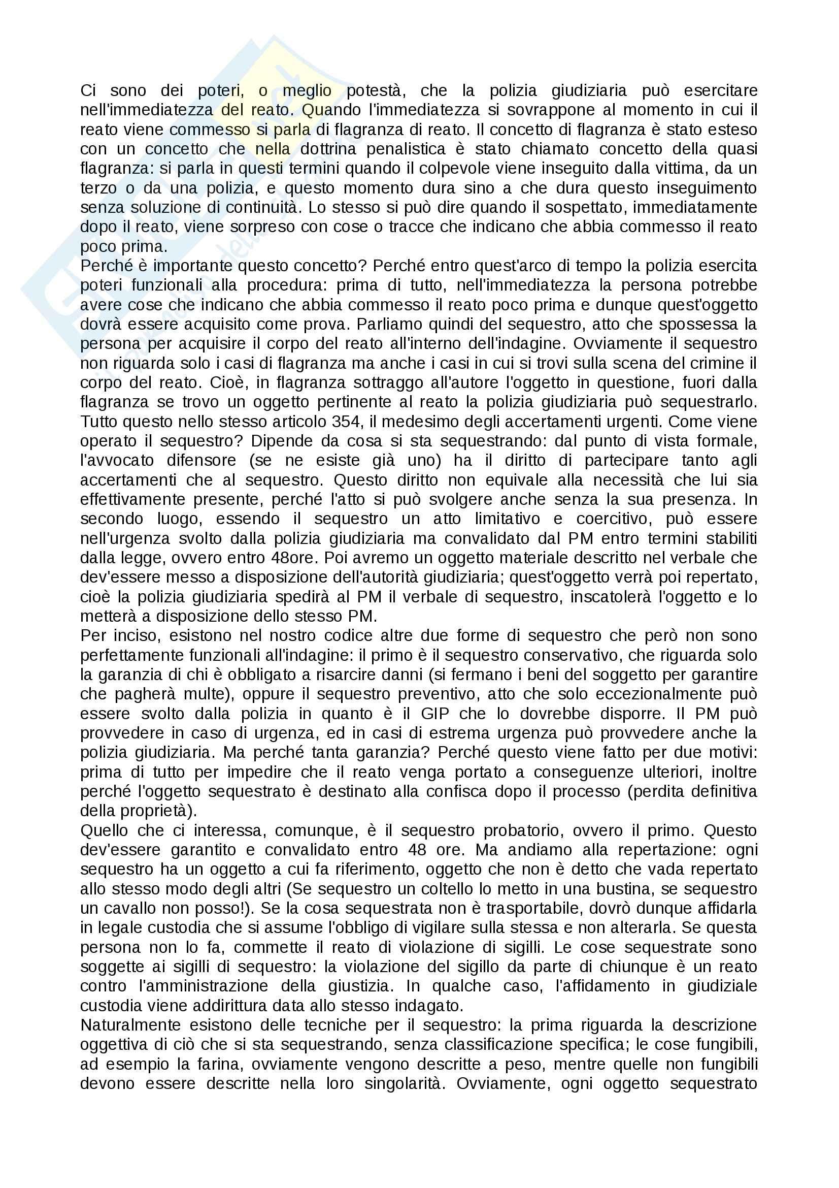 Tecniche investigative applicate - Appunti Pag. 21