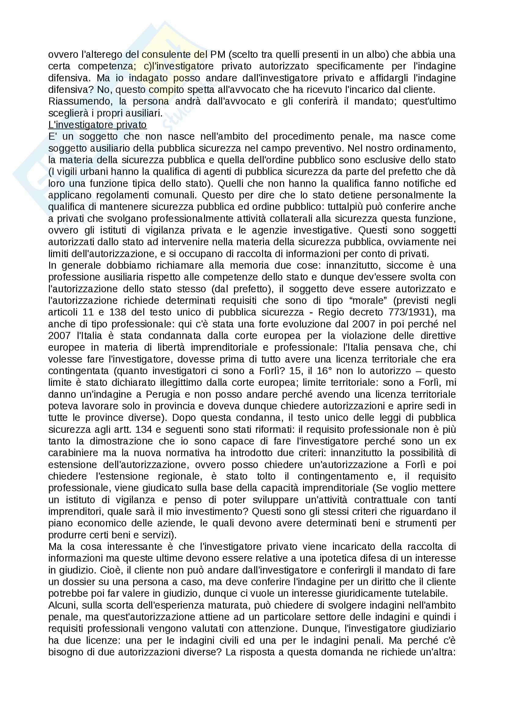 Tecniche investigative applicate - Appunti Pag. 26