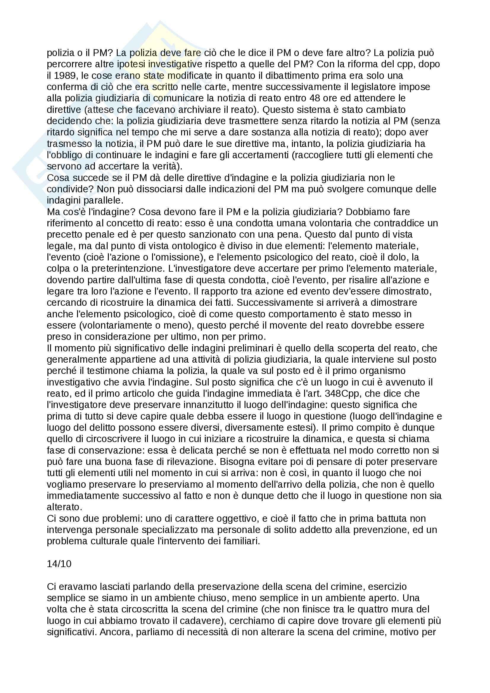 Tecniche investigative applicate - Appunti Pag. 6
