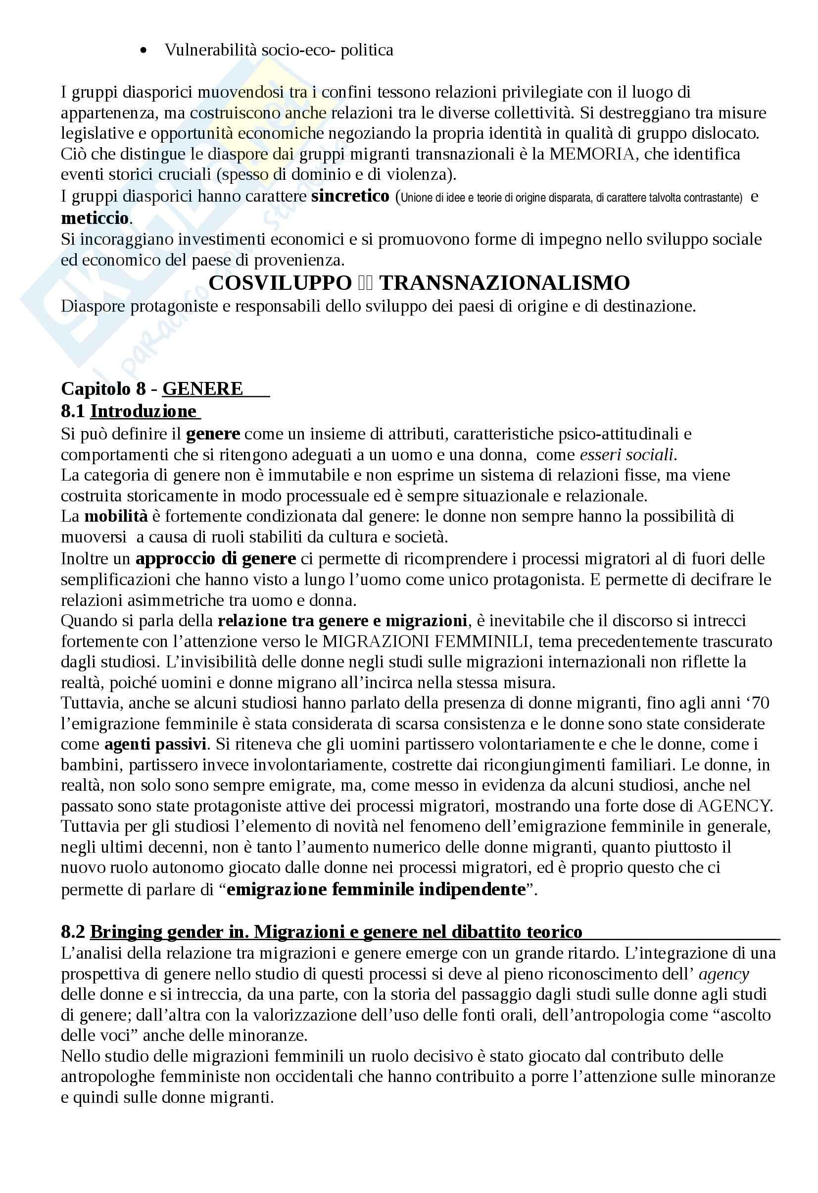 Riassunto esame Antropologia, prof. Riccio, libro consigliato Antropologia e migrazioni Pag. 16