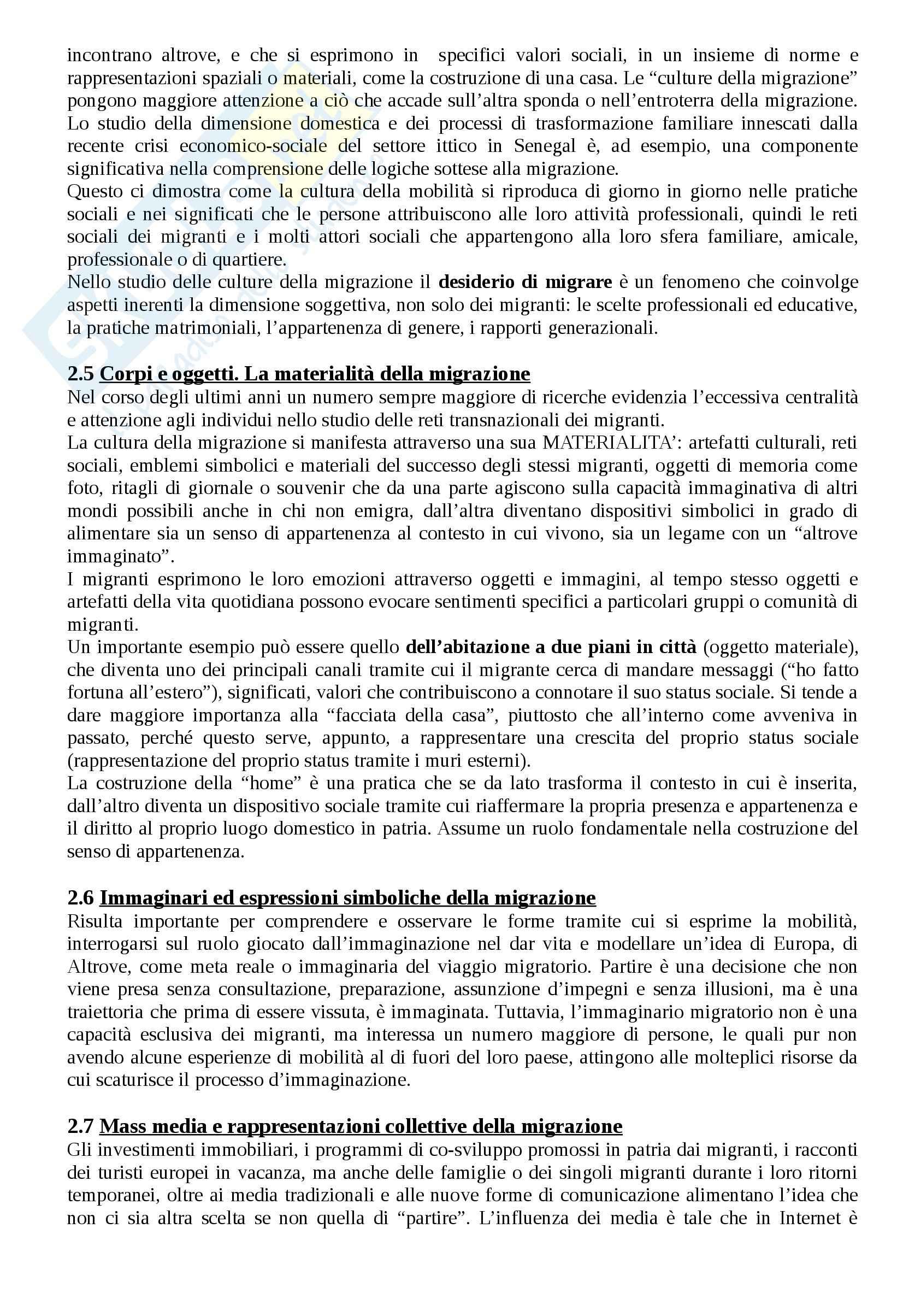 Riassunto esame Antropologia, prof. Riccio, libro consigliato Antropologia e migrazioni Pag. 6