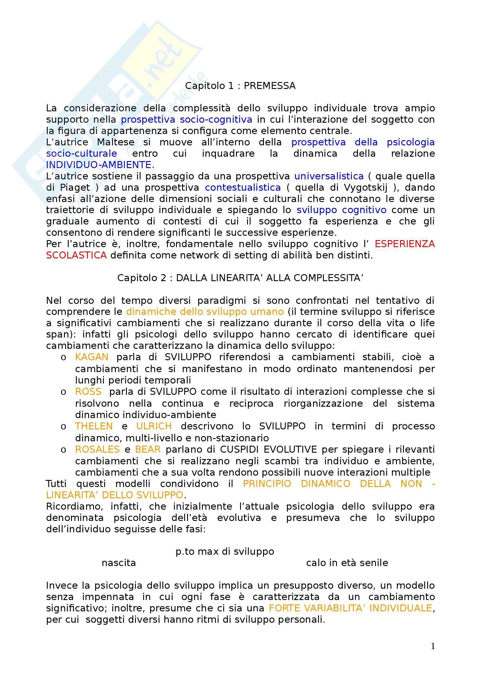appunto P. Alesi Maltese Psicologia dello sviluppo