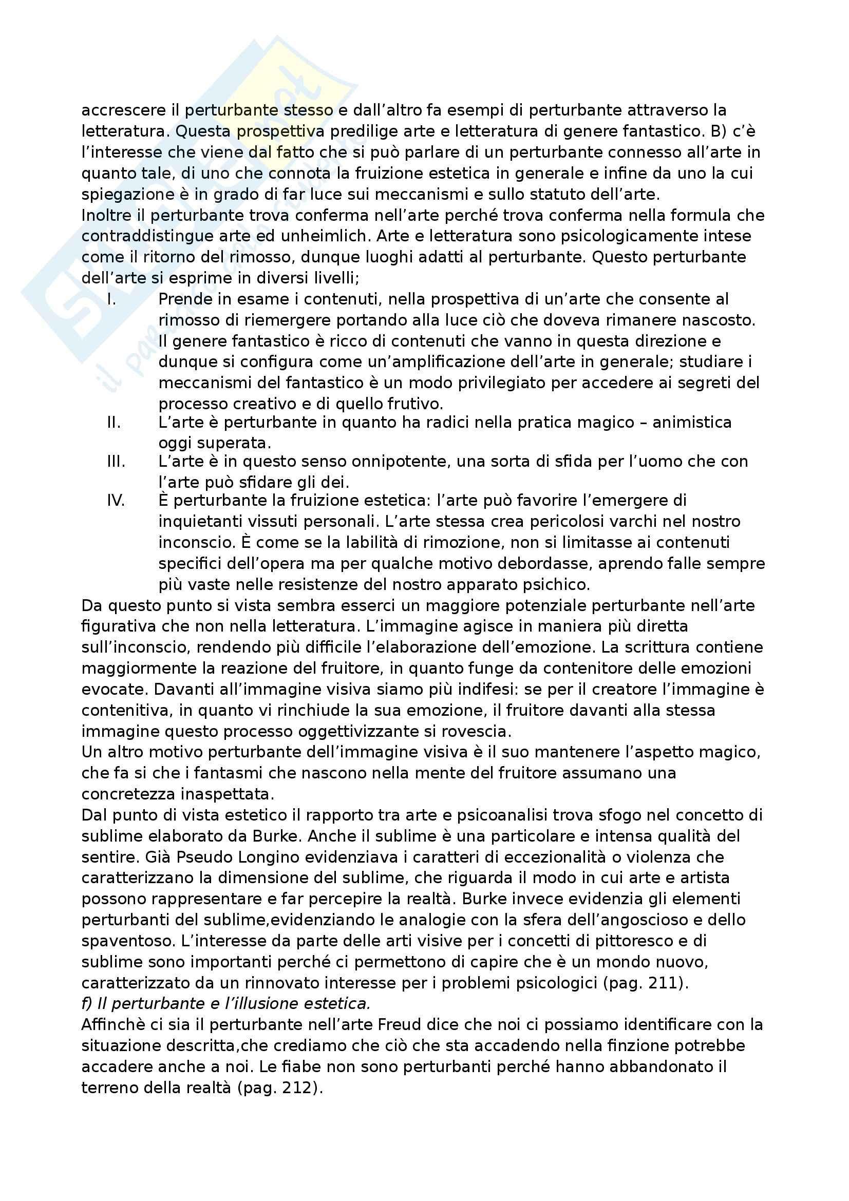 Riassunto esame Psicologia dell'arre, prof. Ferrari, libro consigliato Nuovi Lineamenti di una psicologia dell'arte, Ferrari Pag. 36