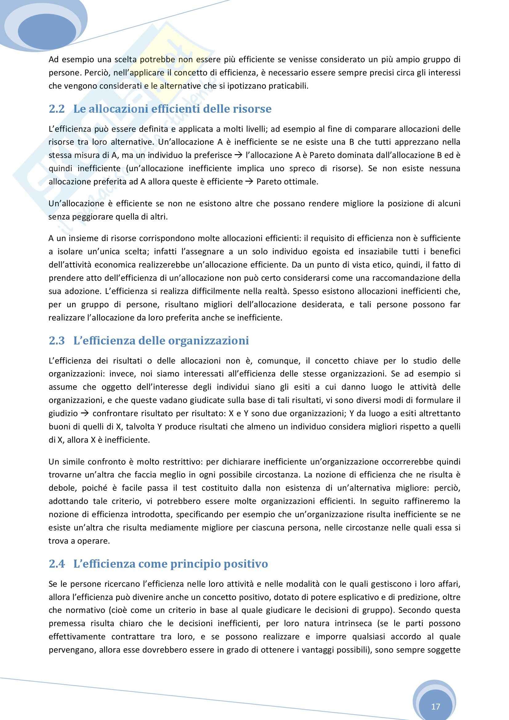 Riassunto esame Economia Aziendale, prof. Colombo, libro consigliato Economia, Organizzazione e Management di Giuliani Pag. 16