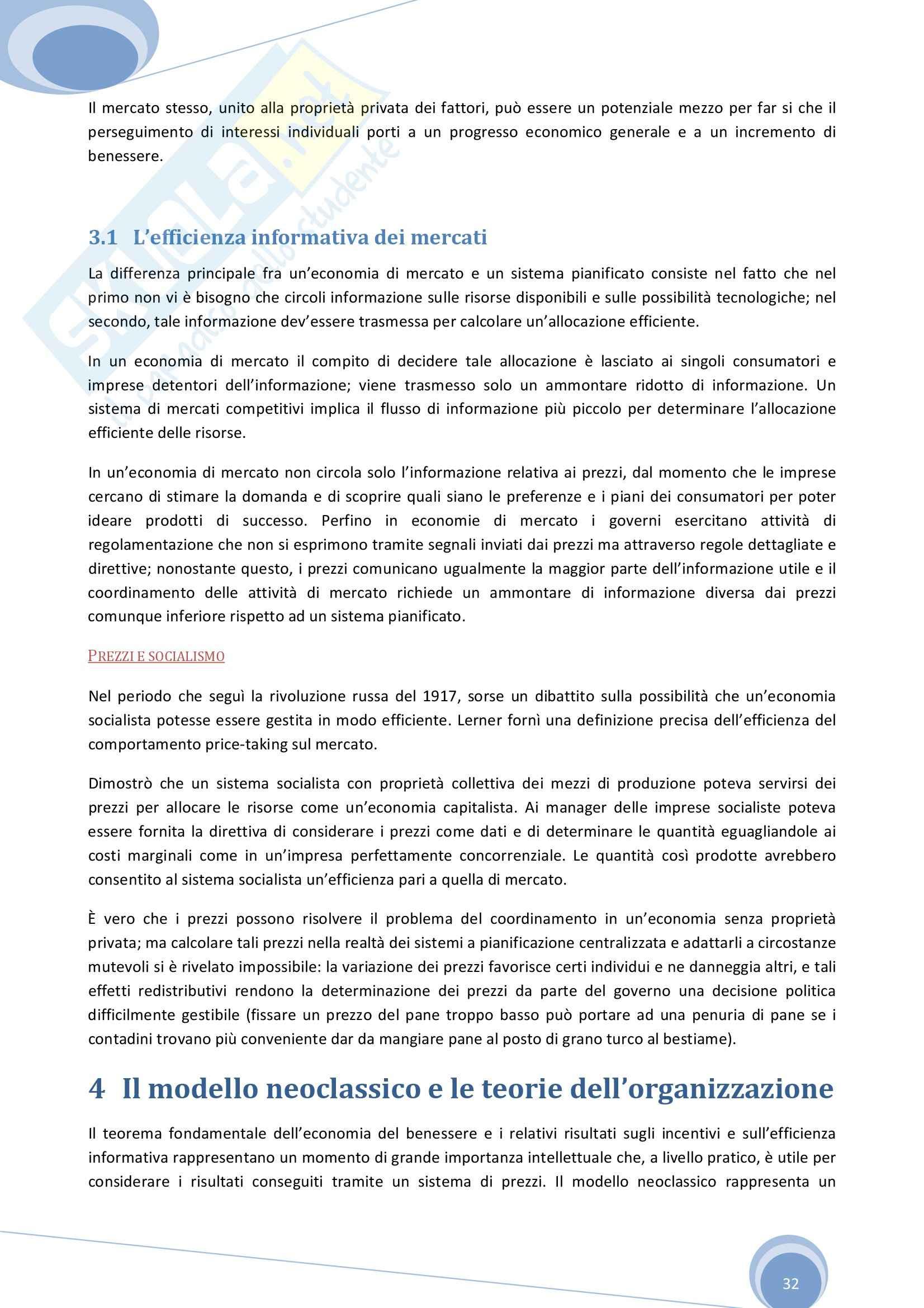 Riassunto esame Economia Aziendale, prof. Colombo, libro consigliato Economia, Organizzazione e Management di Giuliani Pag. 31