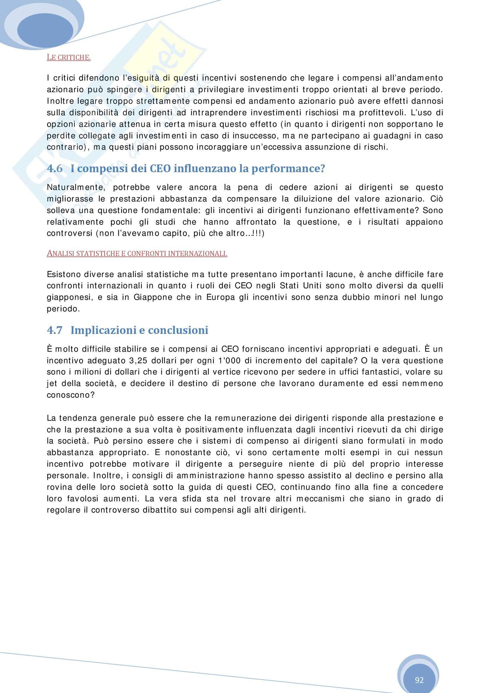 Riassunto esame Economia Aziendale, prof. Colombo, libro consigliato Economia, Organizzazione e Management di Giuliani Pag. 91