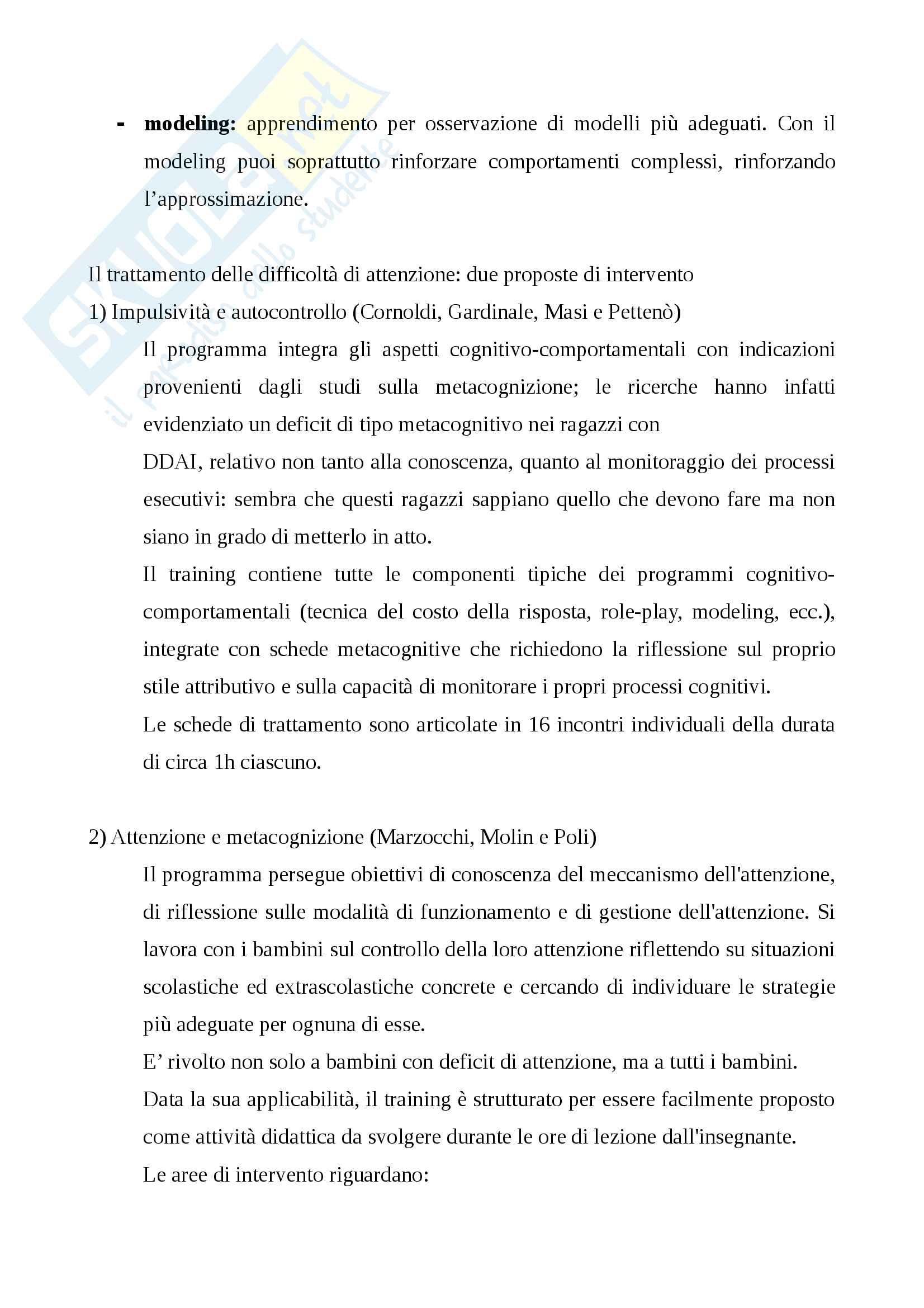 Attenzione e strategie didattiche Pag. 26