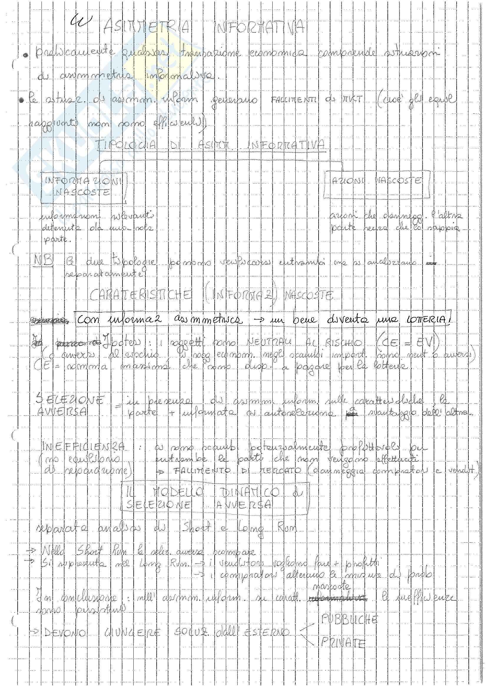 MB110: Appunti di Microeconomia Pag. 91