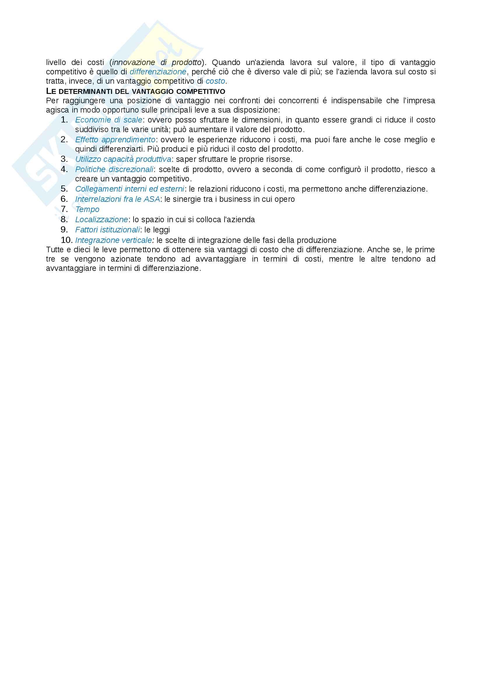 Economia aziendale secondo parziale Pag. 26