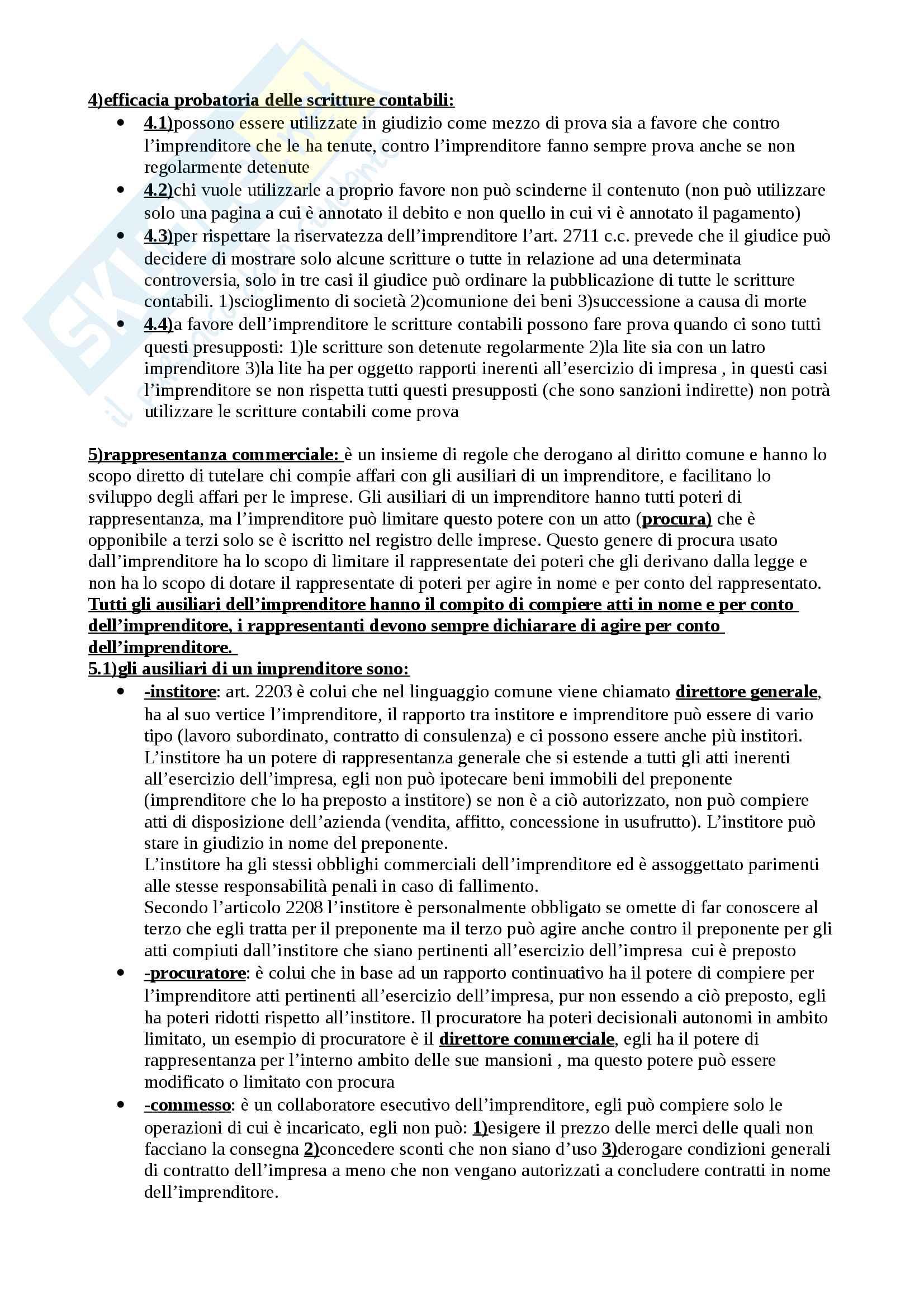 Schemi diritto commerciale Pag. 11