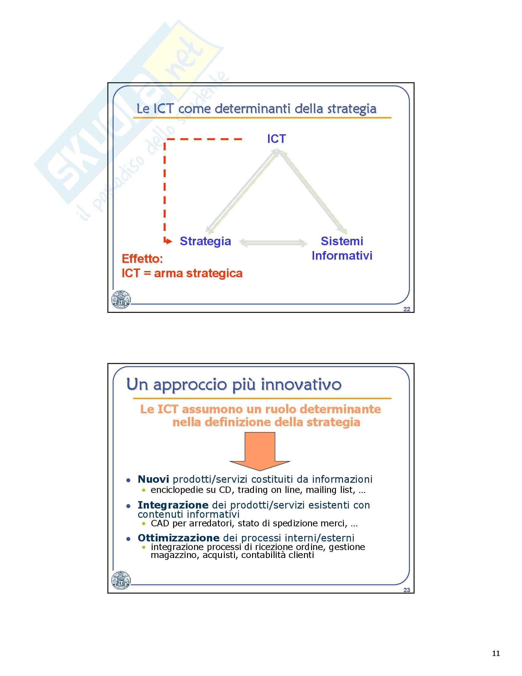 Informatica generale - sistemi per la gestione dell'informazione Pag. 11
