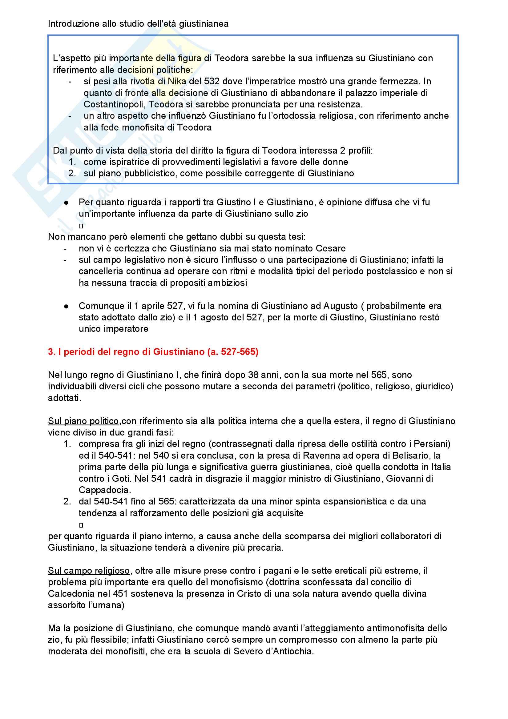 Riassunto esame storia del diritto romano, Prof. Luchetti, libro consigliato Introduzione allo studio dell'età giustinianea Pag. 2