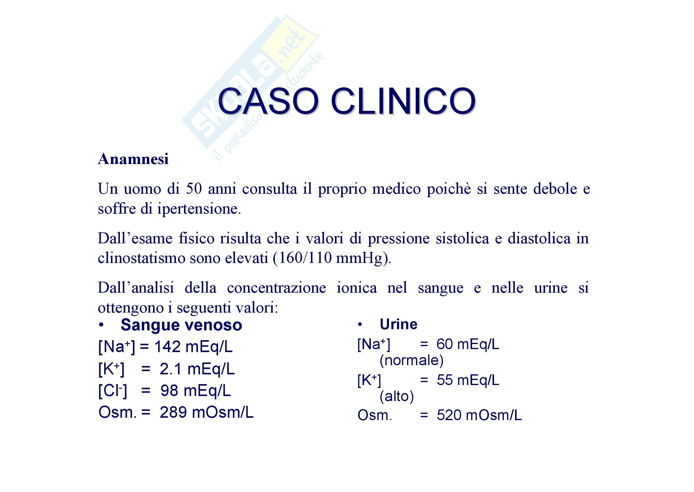 Fisiologia umana I - caso clinico 2 Pag. 2