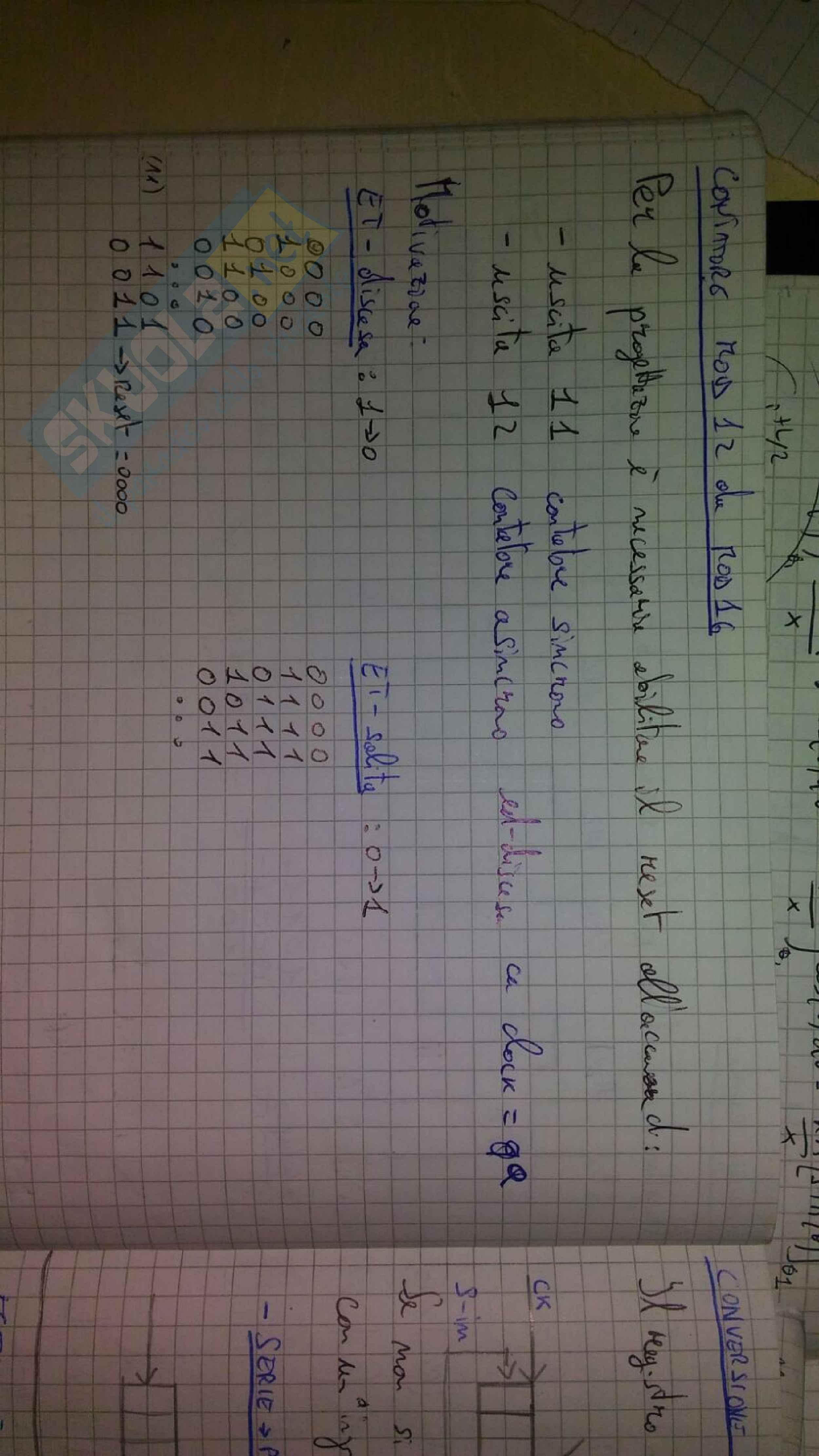 Quaderno appunti presi a lezione con esercizi esame svolti Pag. 66