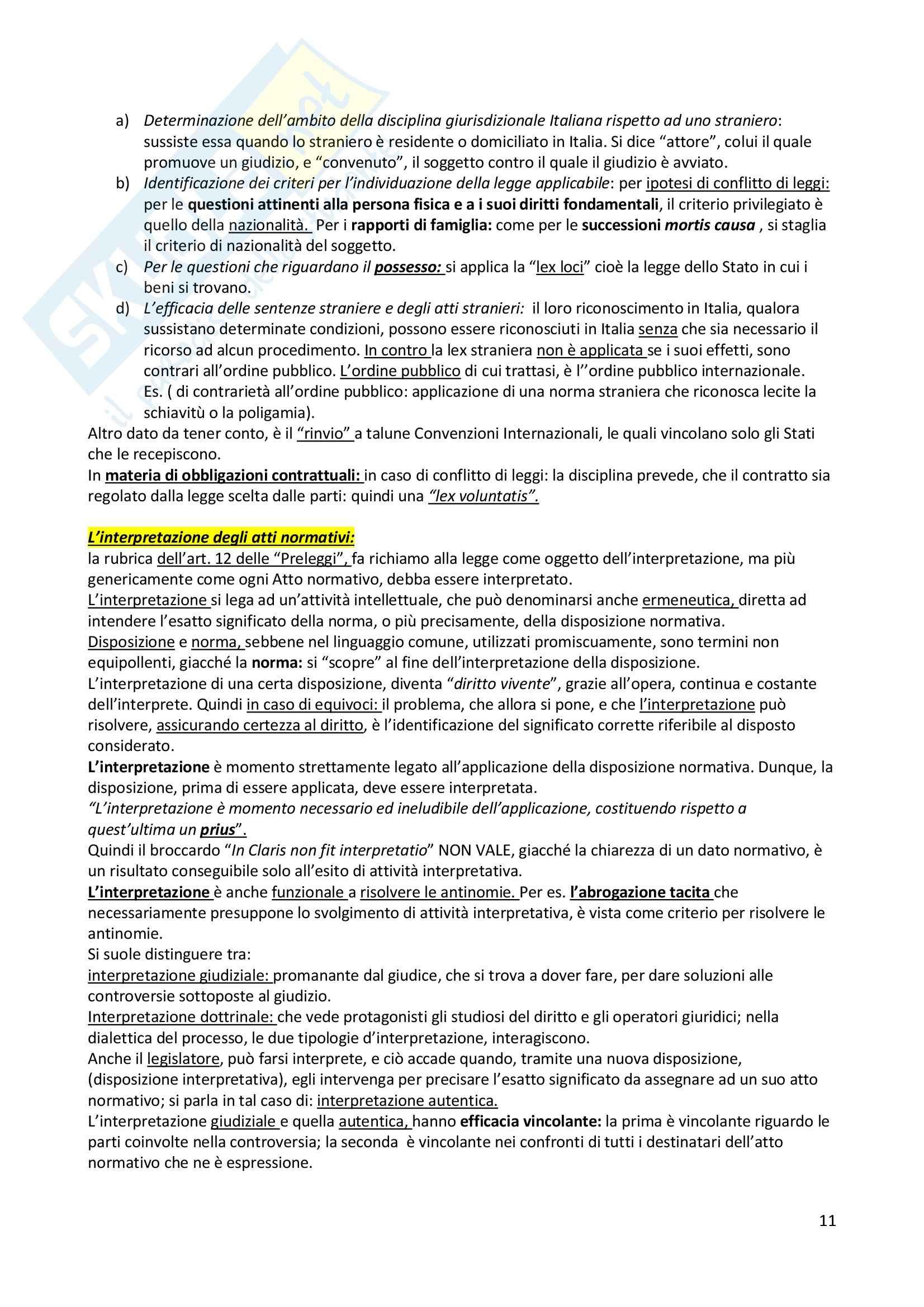 Diritto privato - gli istituti del diritto privato Pag. 11