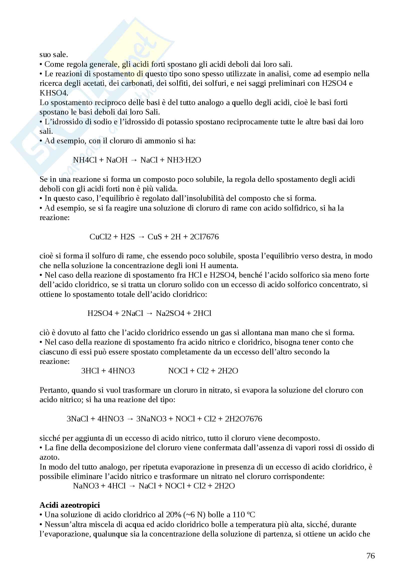 Analisi chimico farmaceutica e tossicologica Pag. 76