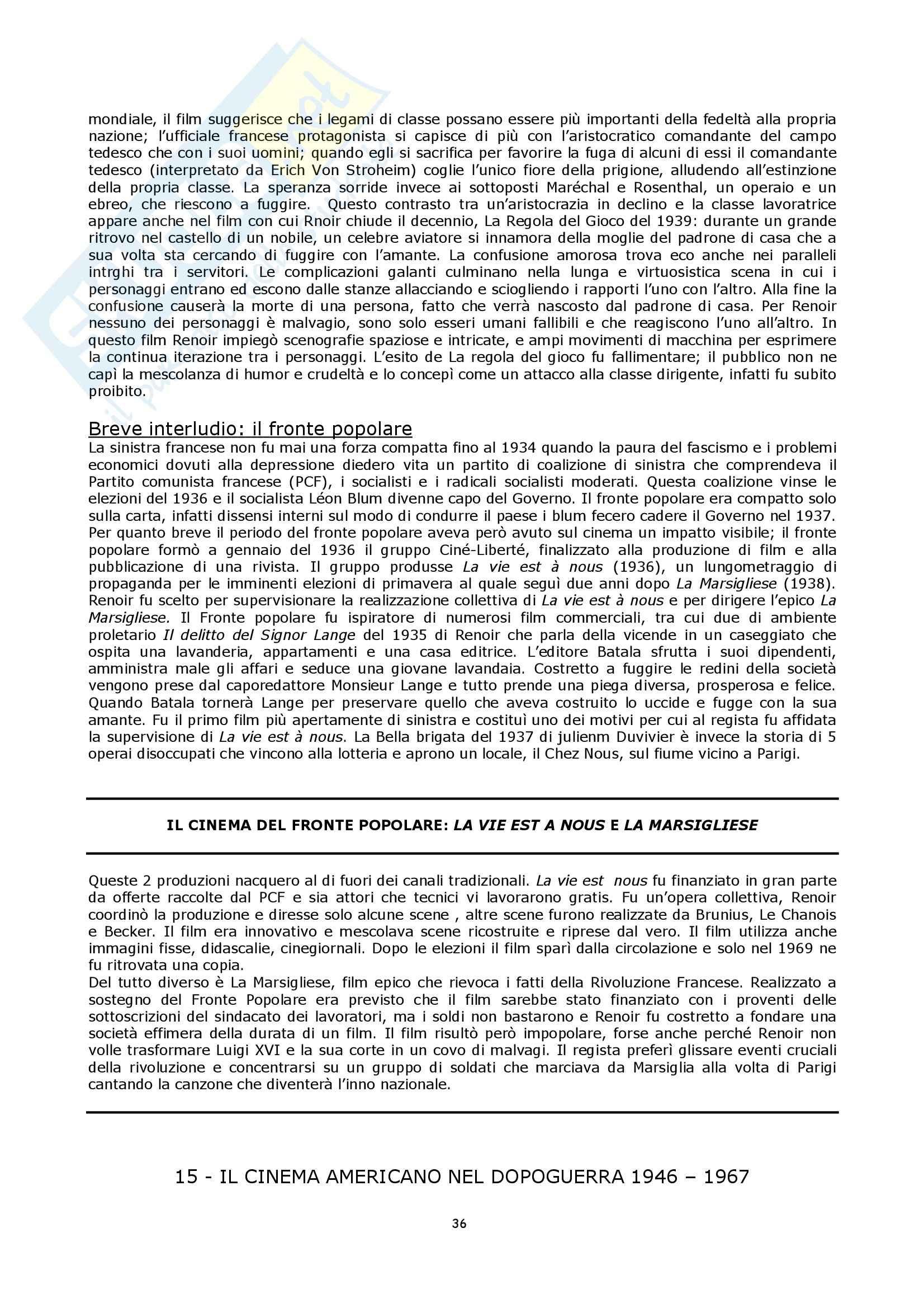 Semiologia del cinema - Bordwell storia del cinema Pag. 36