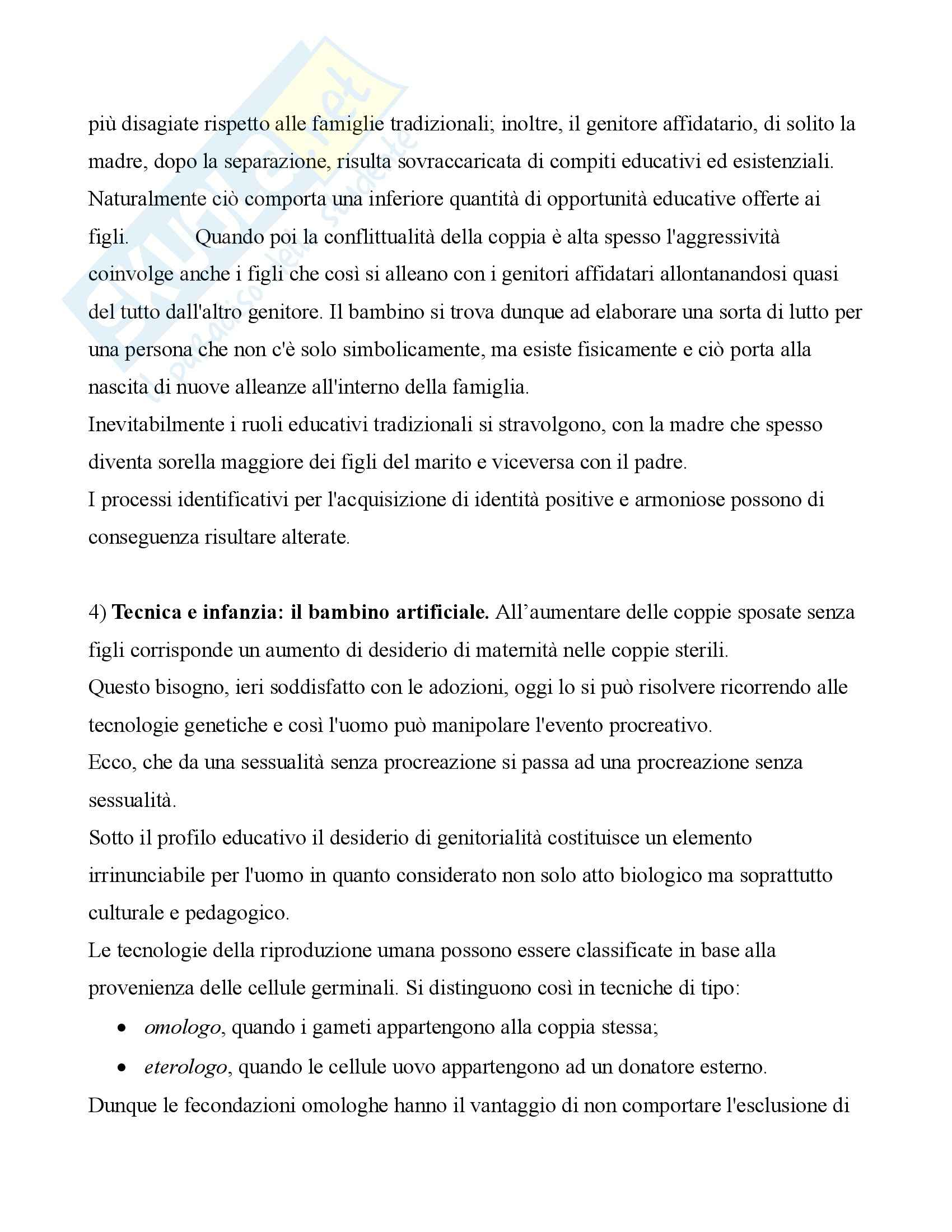 Pedagogia dell'infanzia – Modulo applicativo Pag. 16