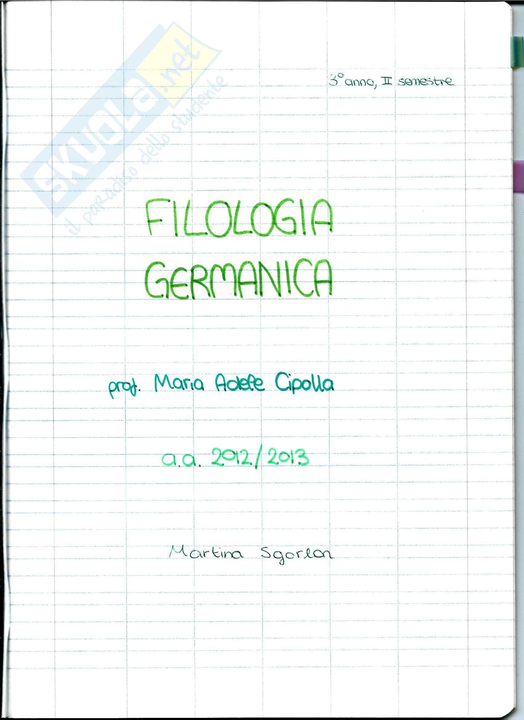 Filologia Germanica - I popoli