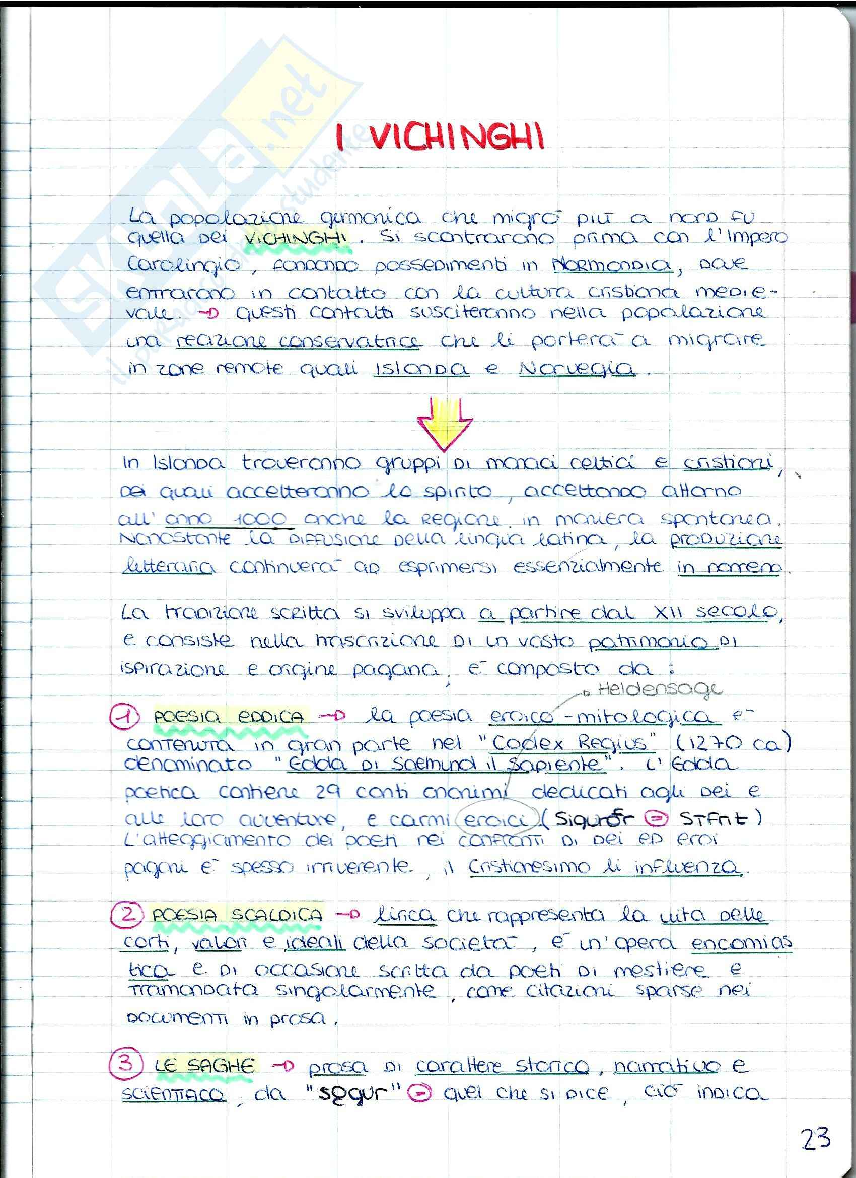 Filologia Germanica - I popoli Pag. 26