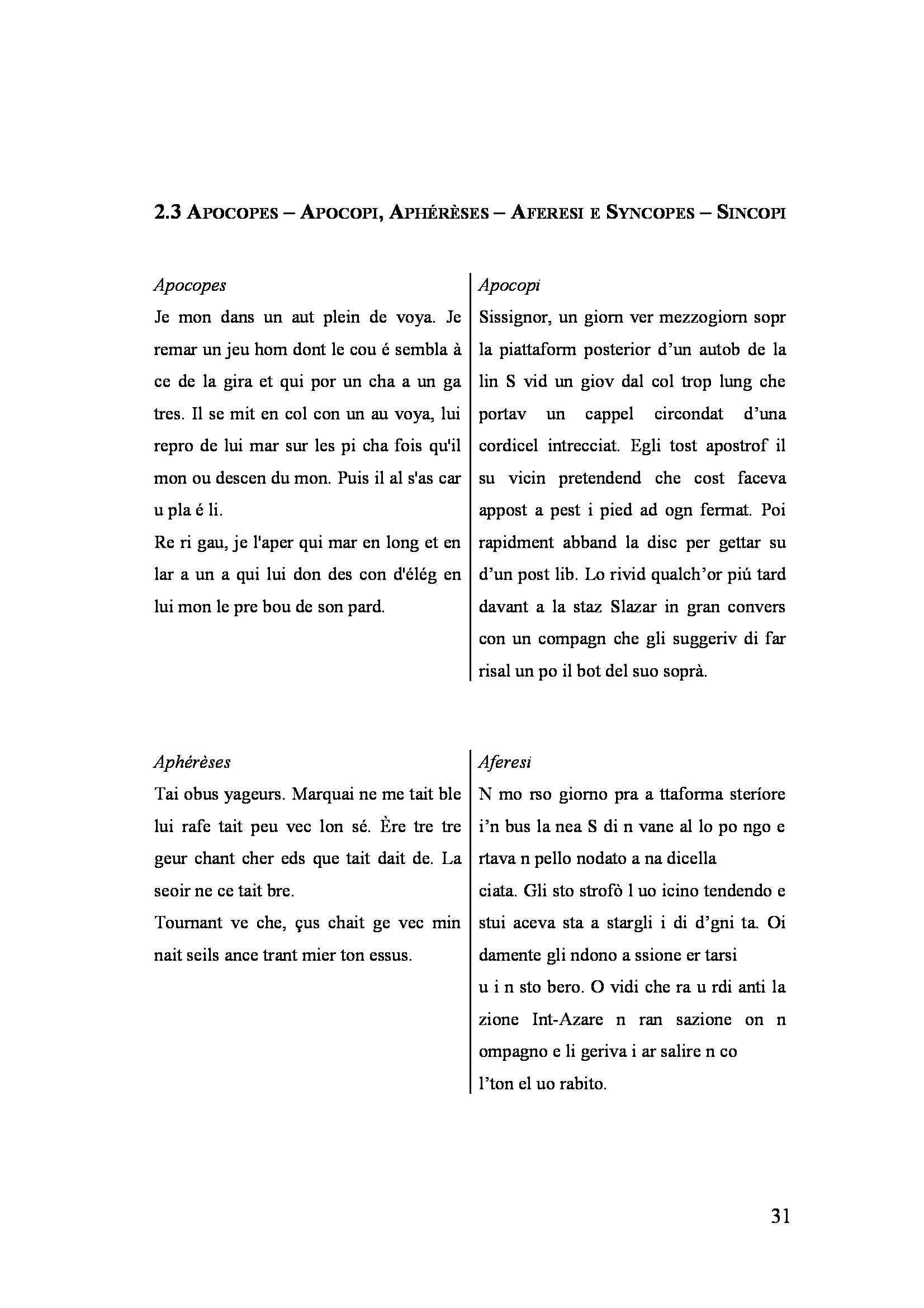 Tesi triennale - Gli Exercices de Style nella traduzione di Umberto Eco Pag. 31