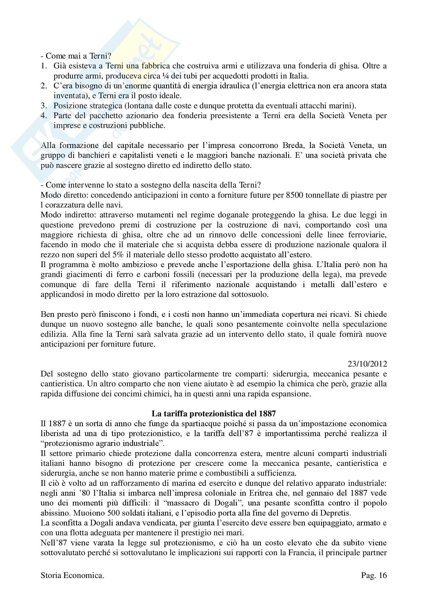 Storia Economica - Appunti Pag. 16