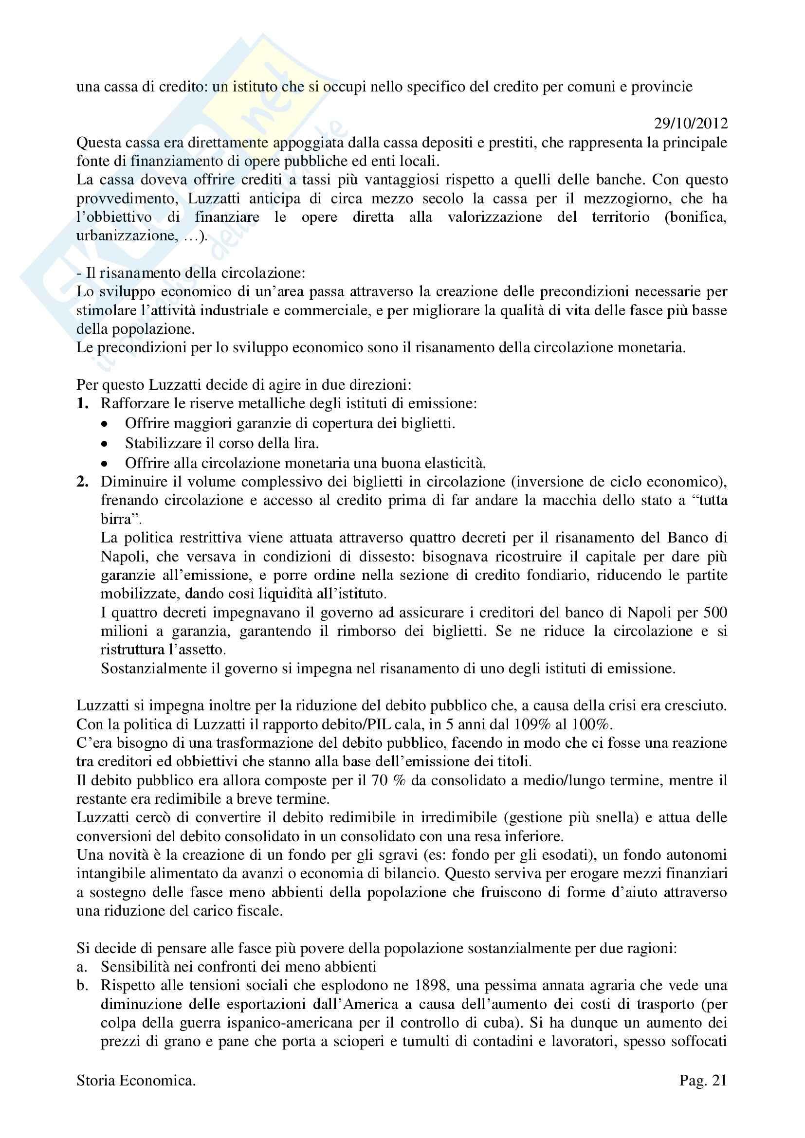 Storia Economica - Appunti Pag. 21