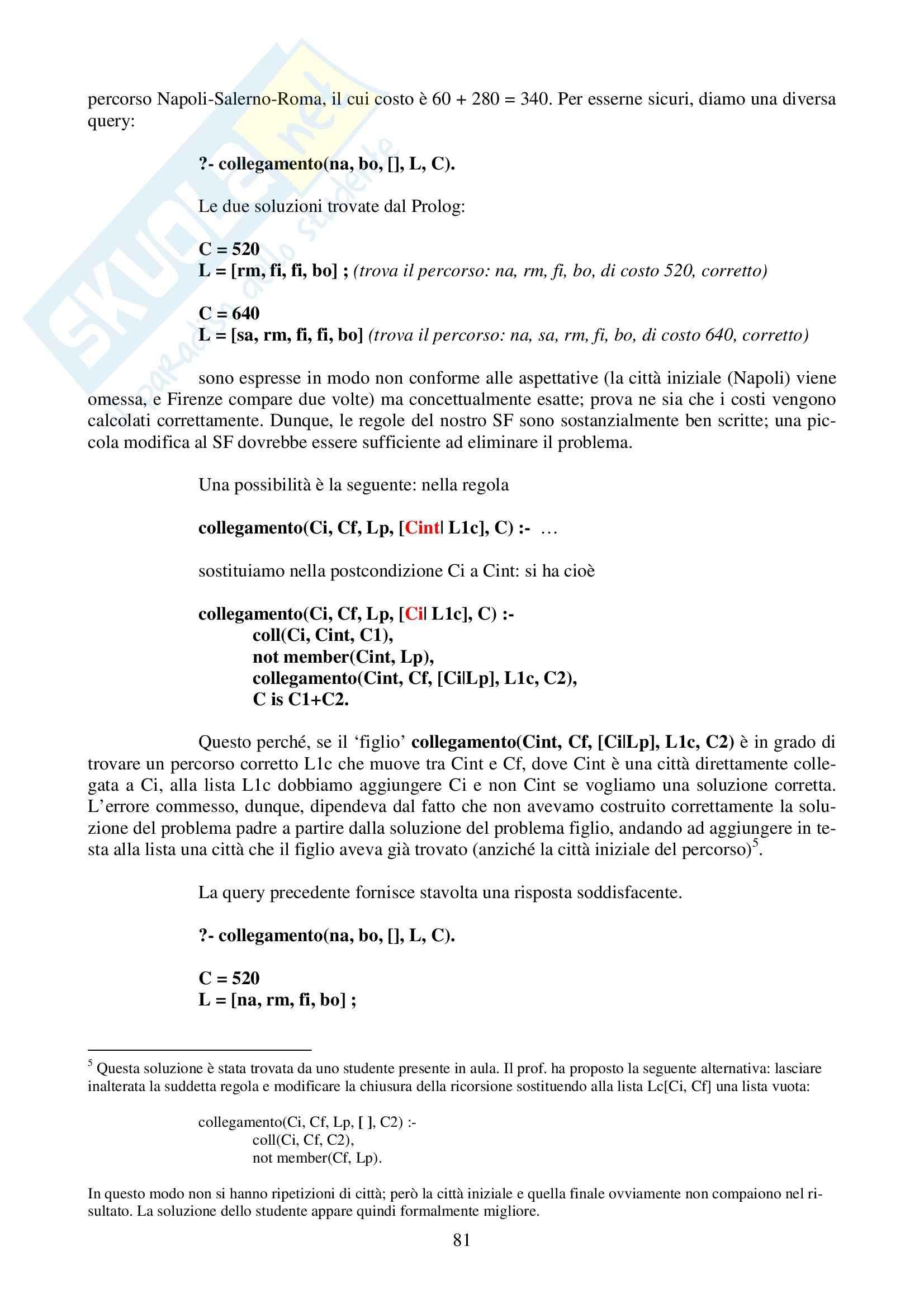 Intelligenza Artificiale - completo Pag. 81