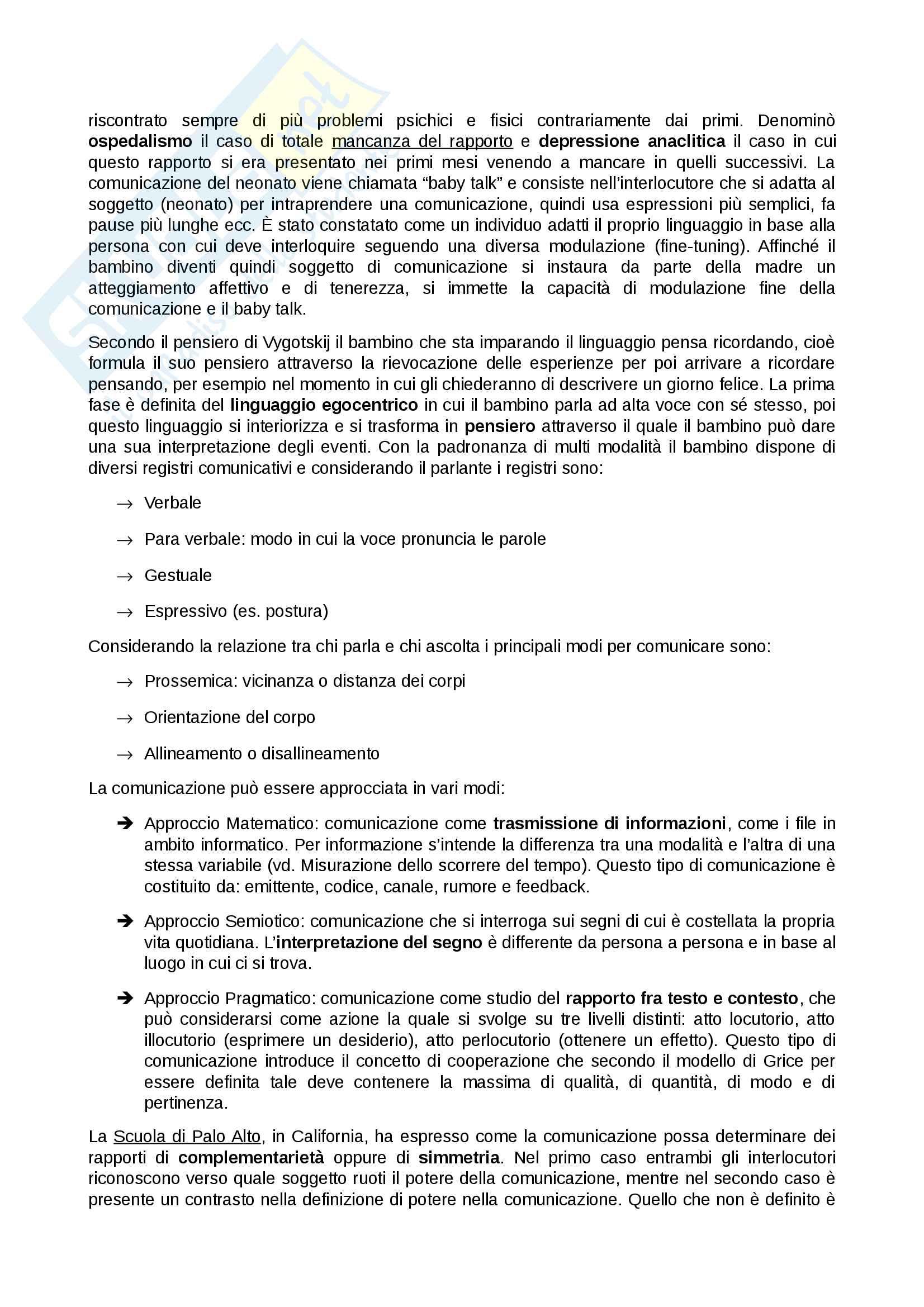 Riassunto esame Psicologia sociale, prof. Sarrica, libro consigliato La psicologia sociale. Processi mentali, comunicazione e cultura Pag. 11
