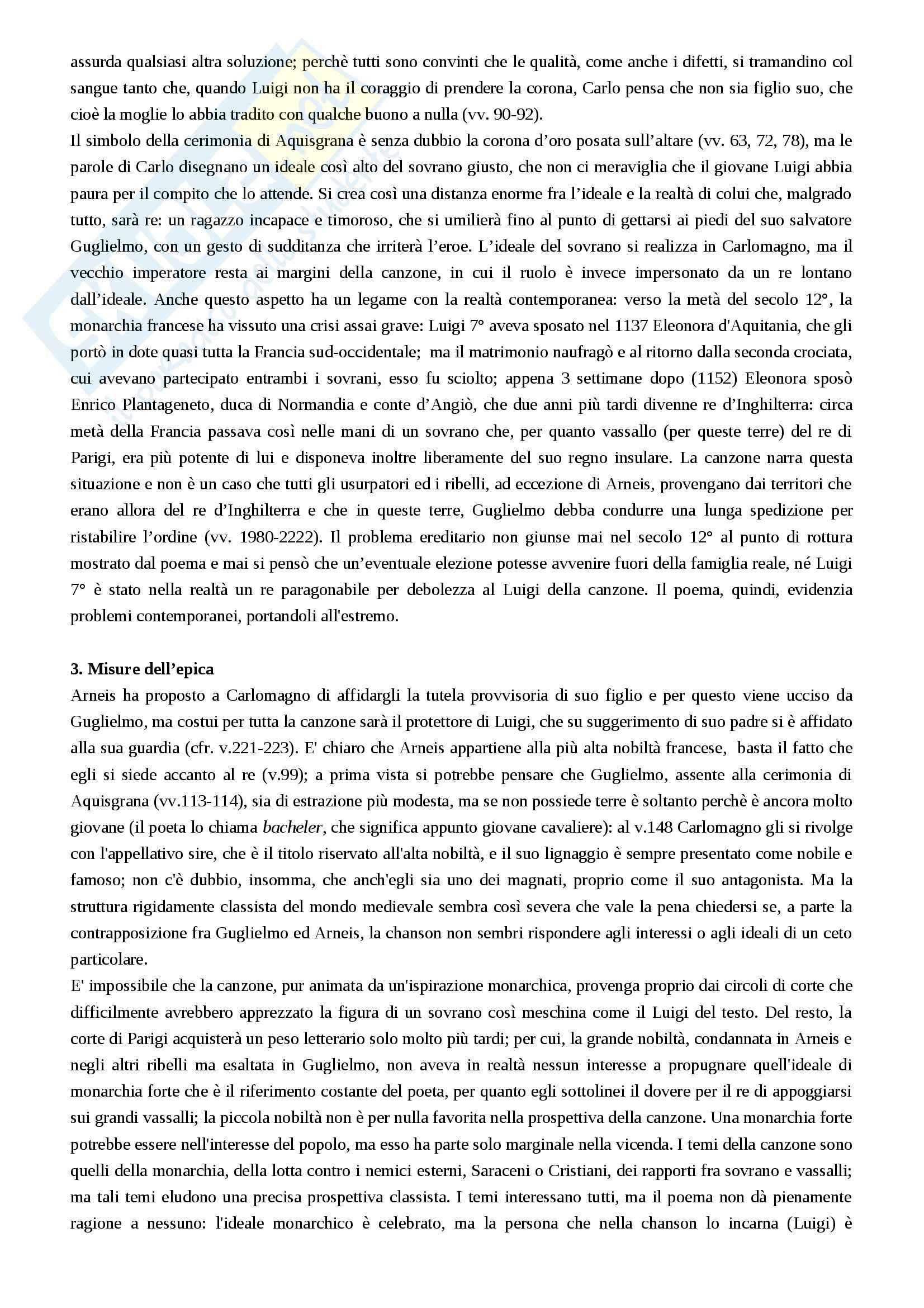 Riassunto esame Filologia romanza, prof. Luongo, libro consigliato Letterature romanze del Medioevo, Varvaro Pag. 31