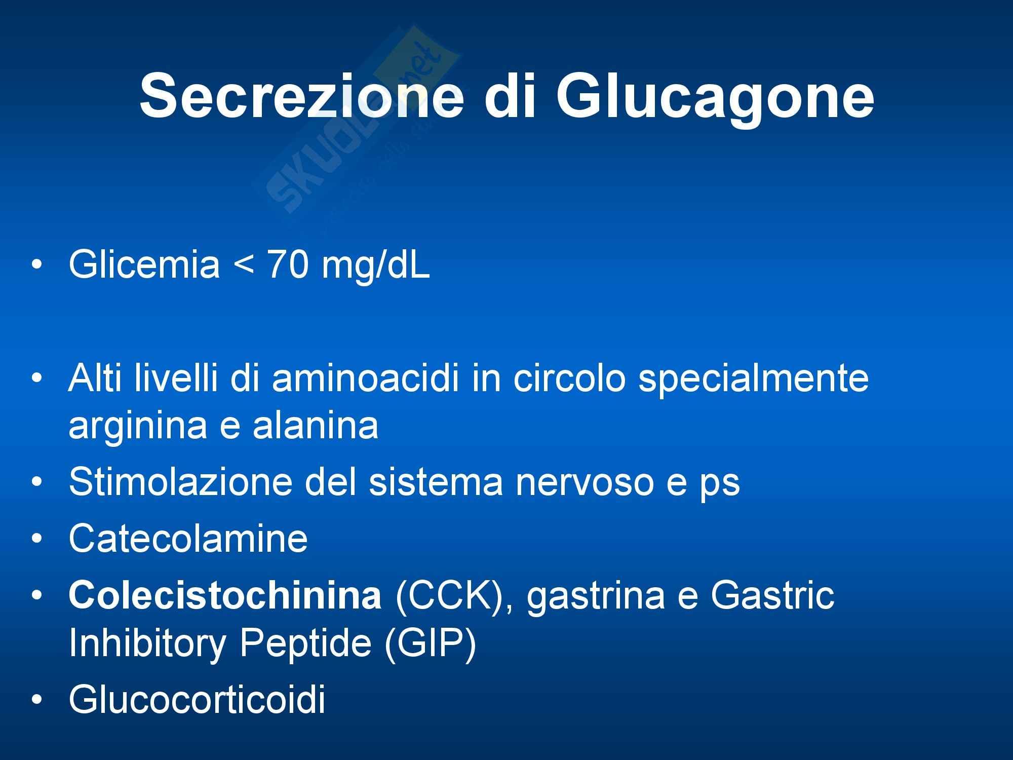 Endocrinologia - Glucagone Pag. 2